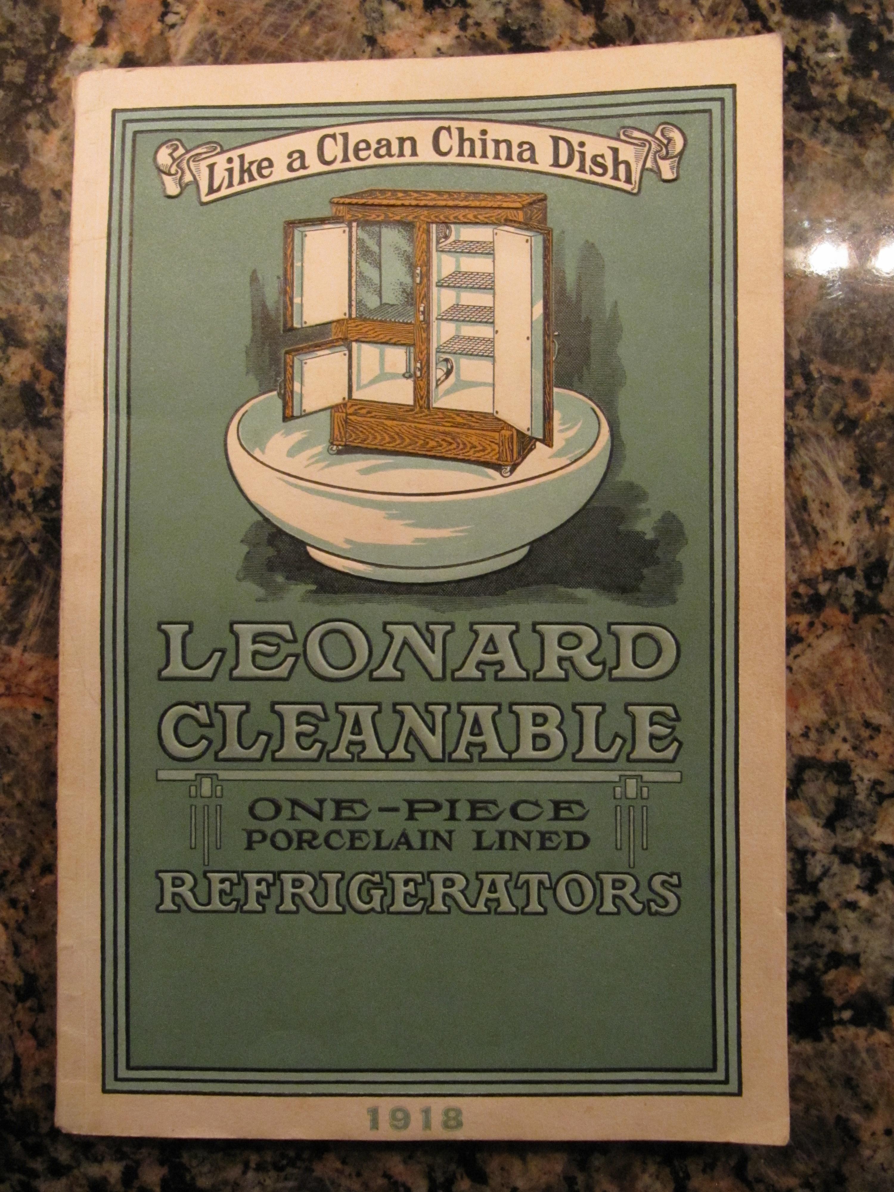 Leonard Refrigerators1918