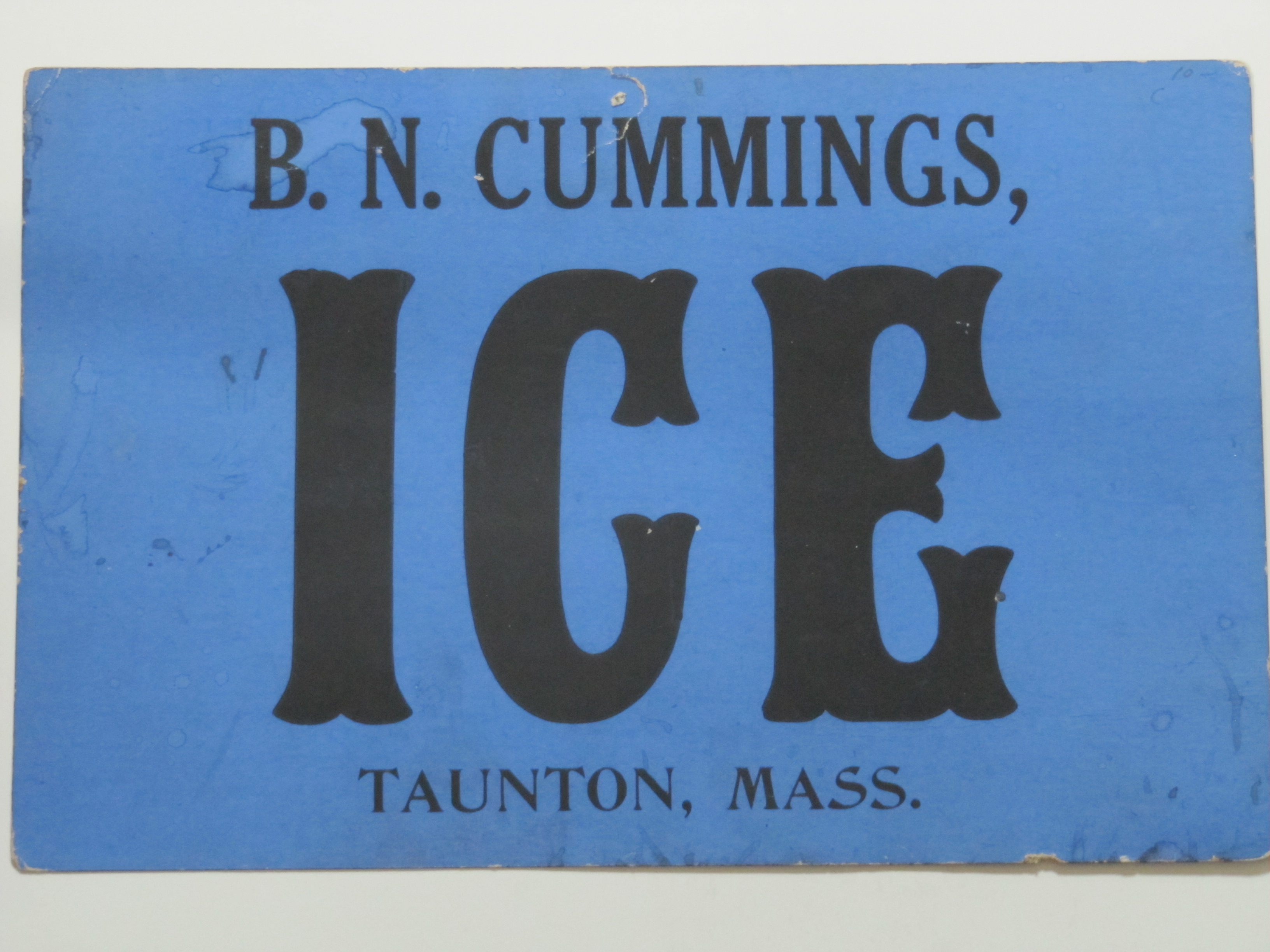 B.N.Cummings Ice
