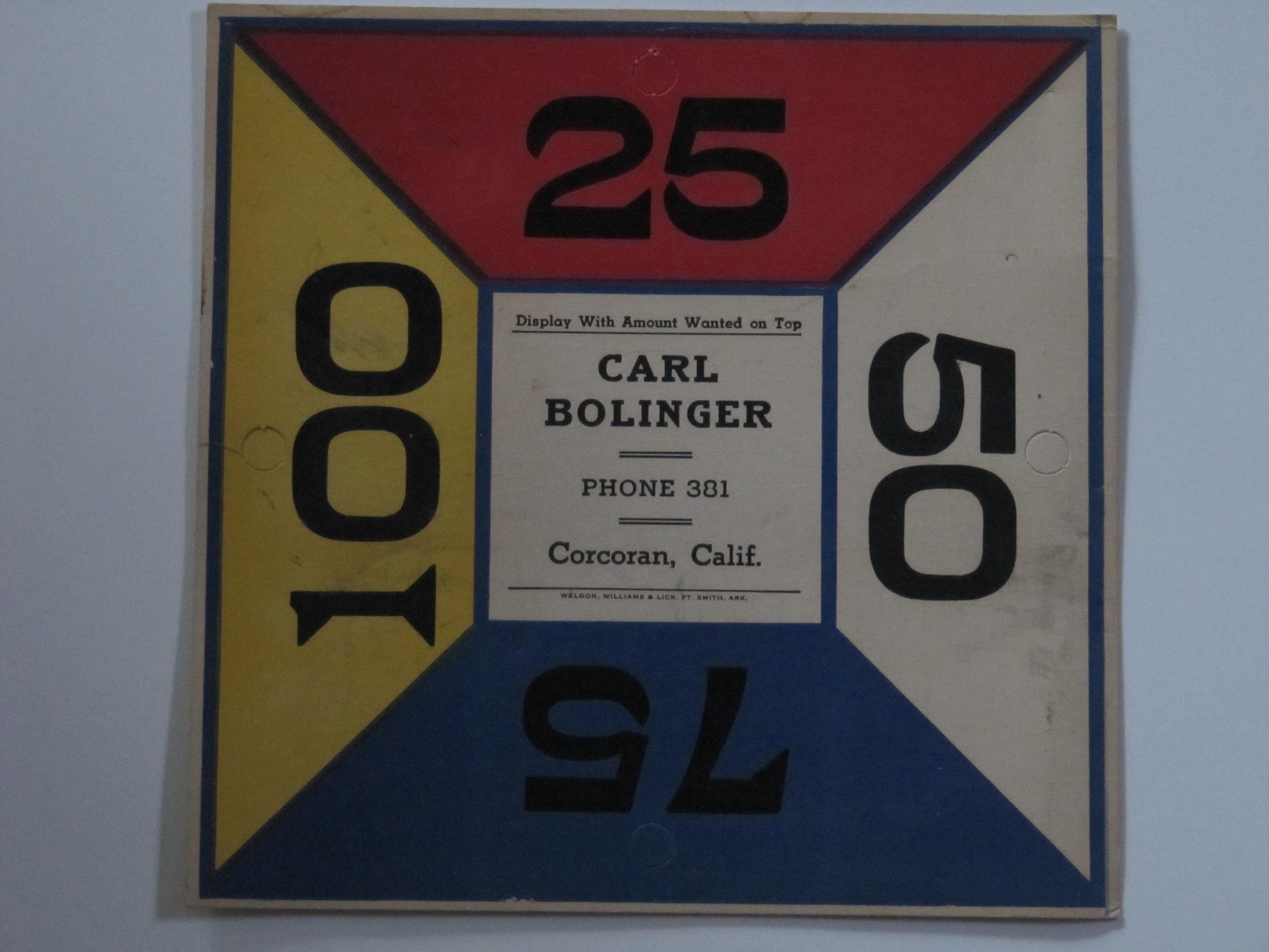 Carl Bolinger