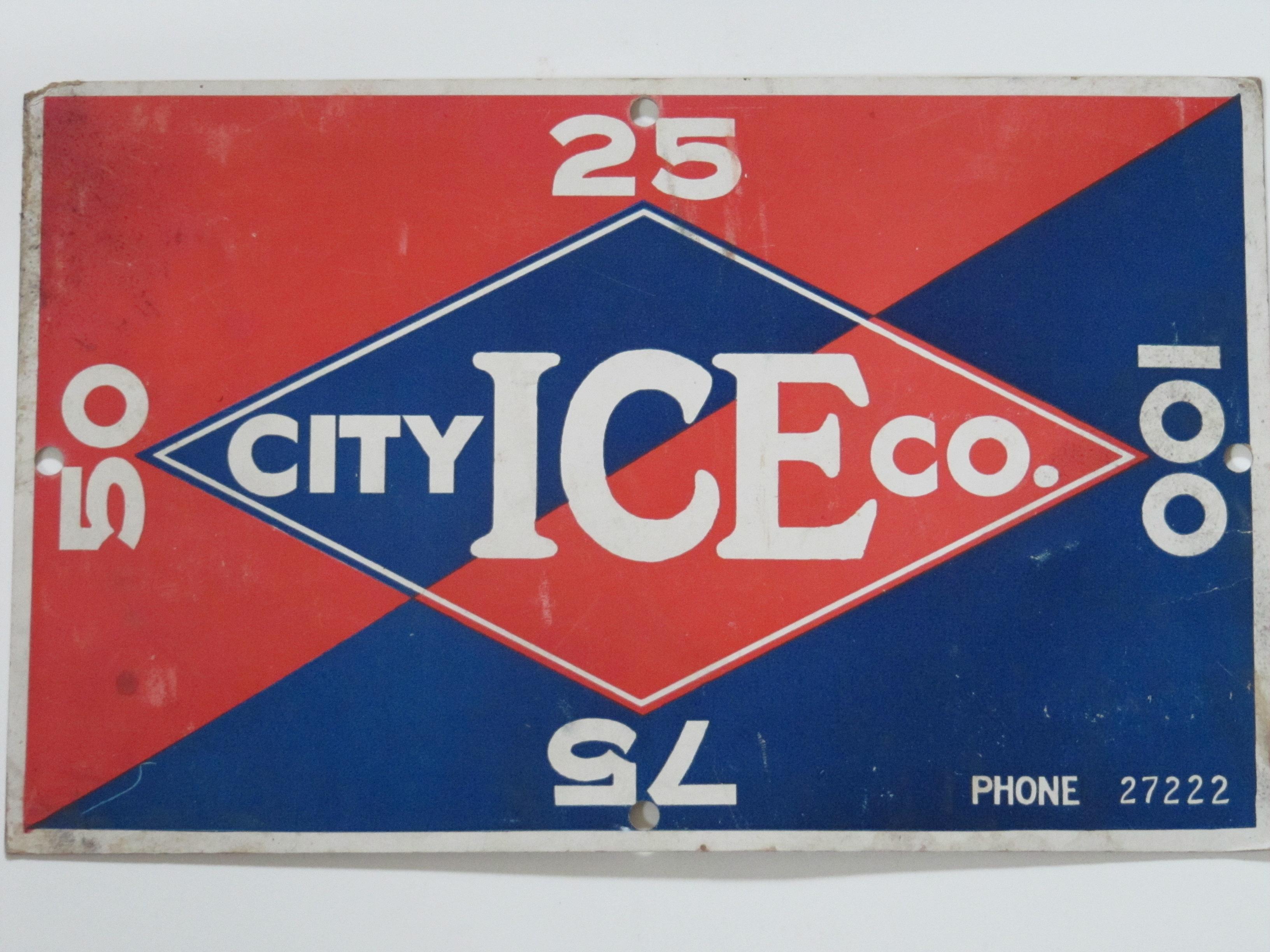 City Ice Co. RedBlue