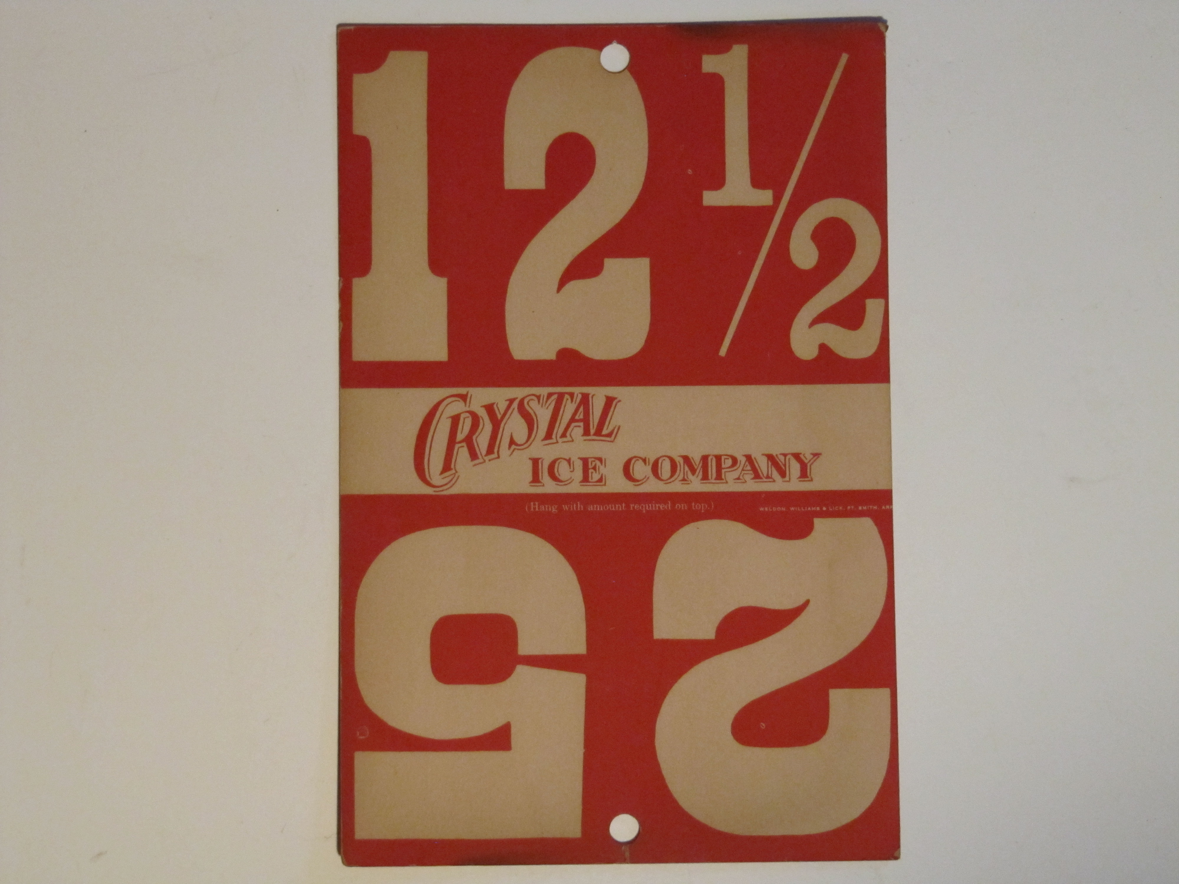Crystal Ice Co. Rect