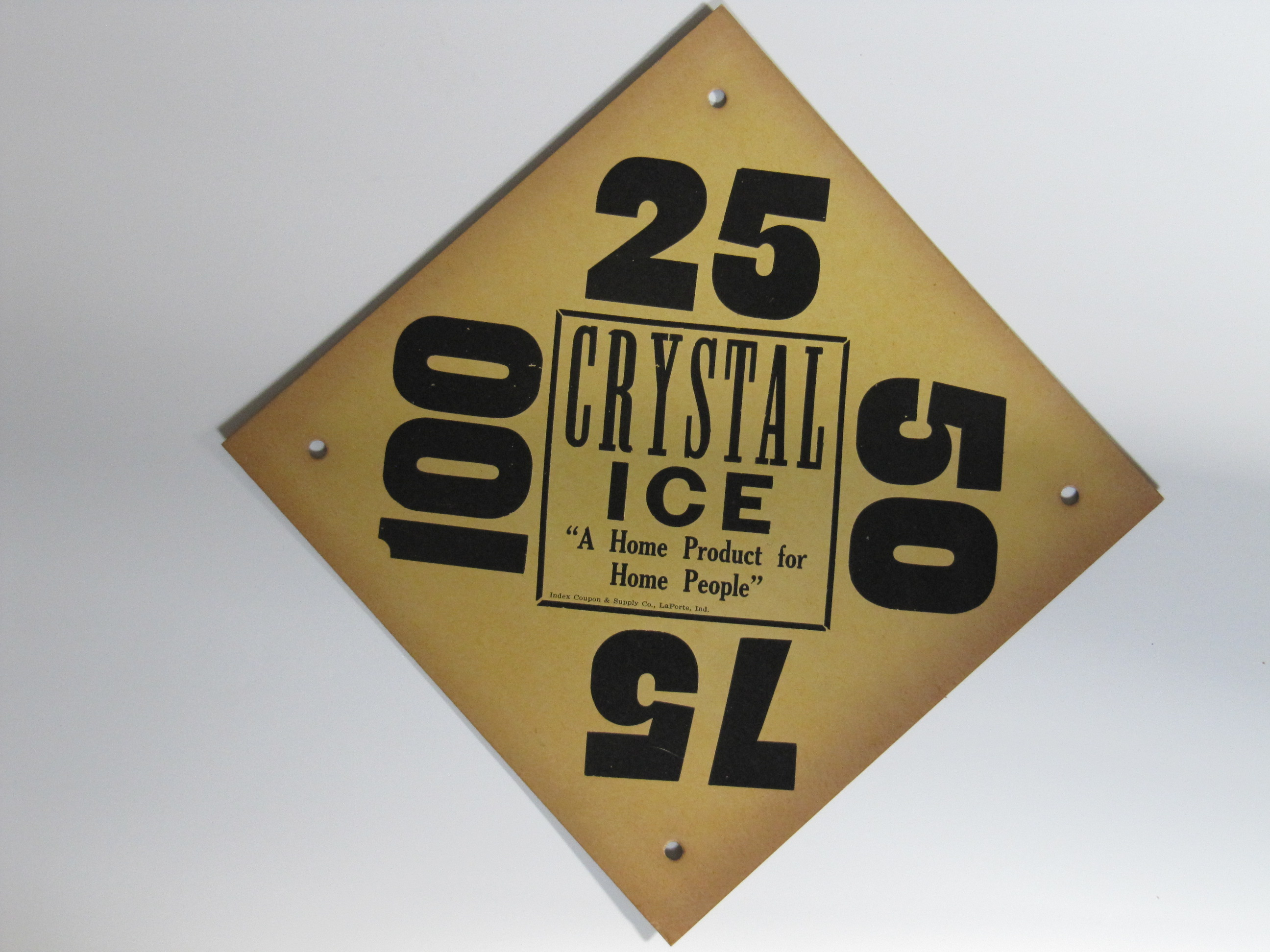 Crystal ice _yellow