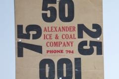 Alexander Ice Coal