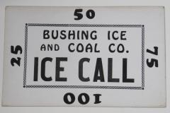 Bushing Ice & Coal