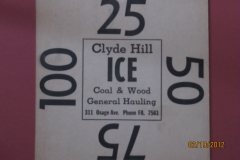 Clyde Hill Ice