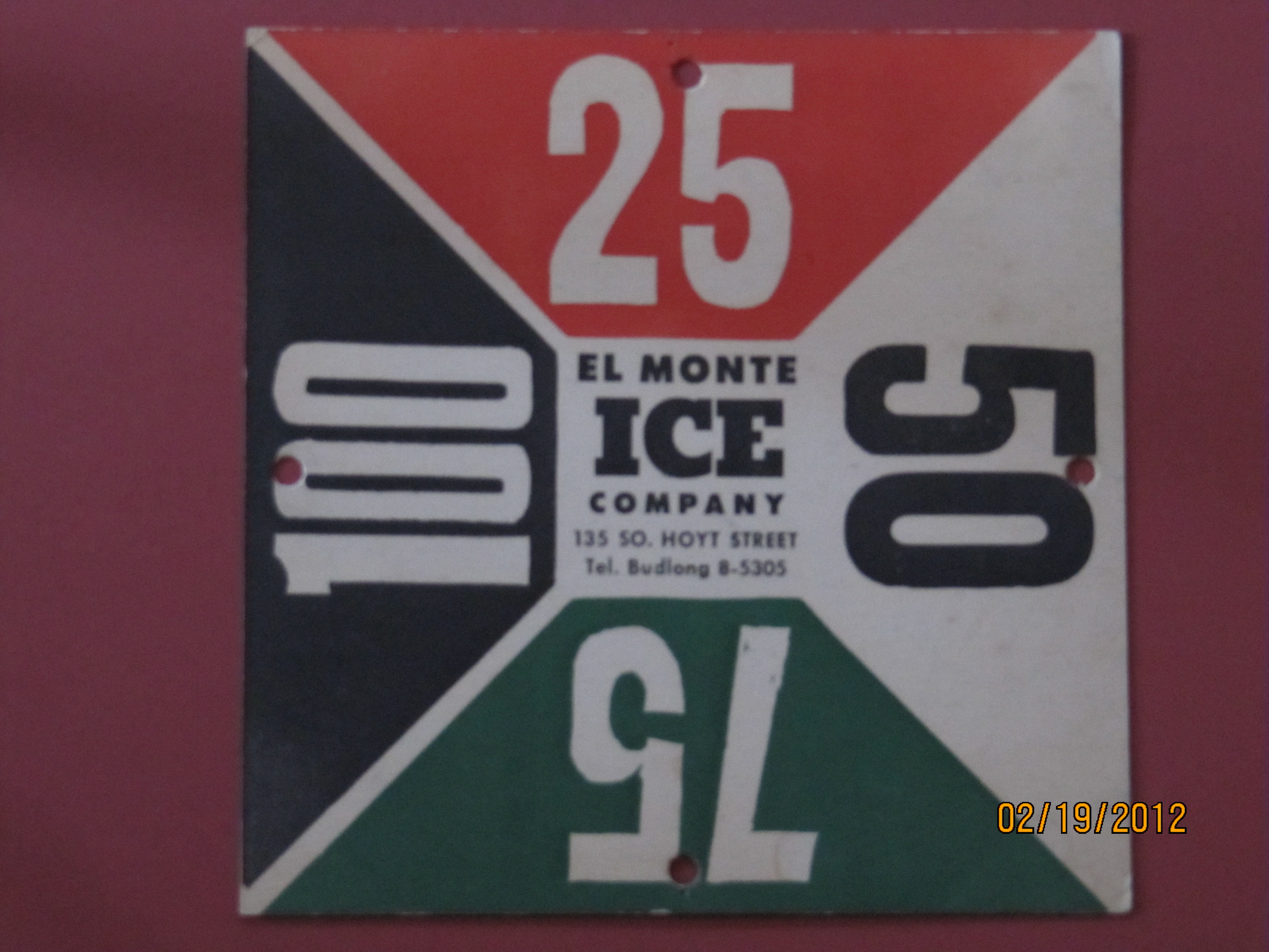 EL Monte Ice Co.