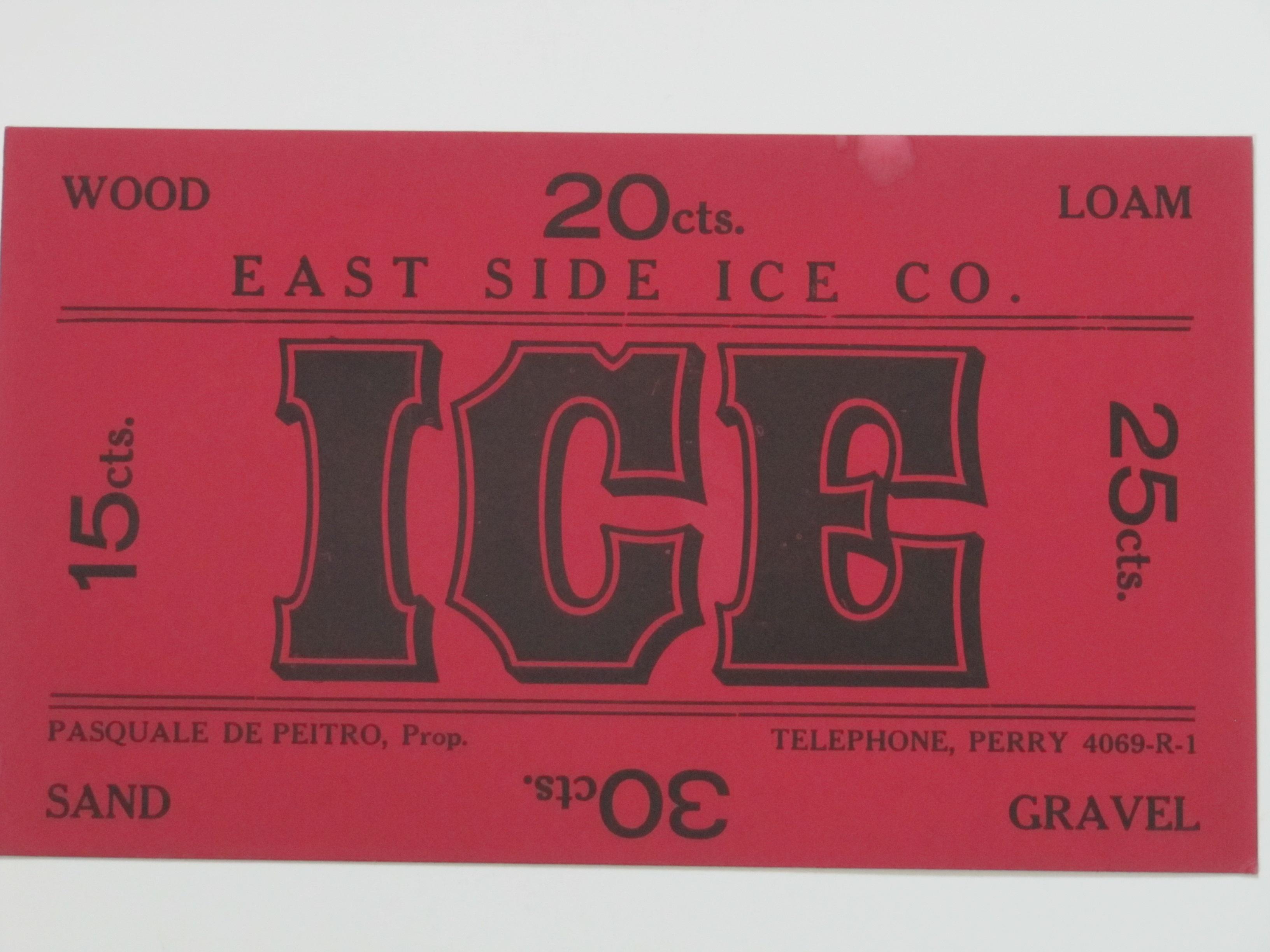 East Side Ice Co.