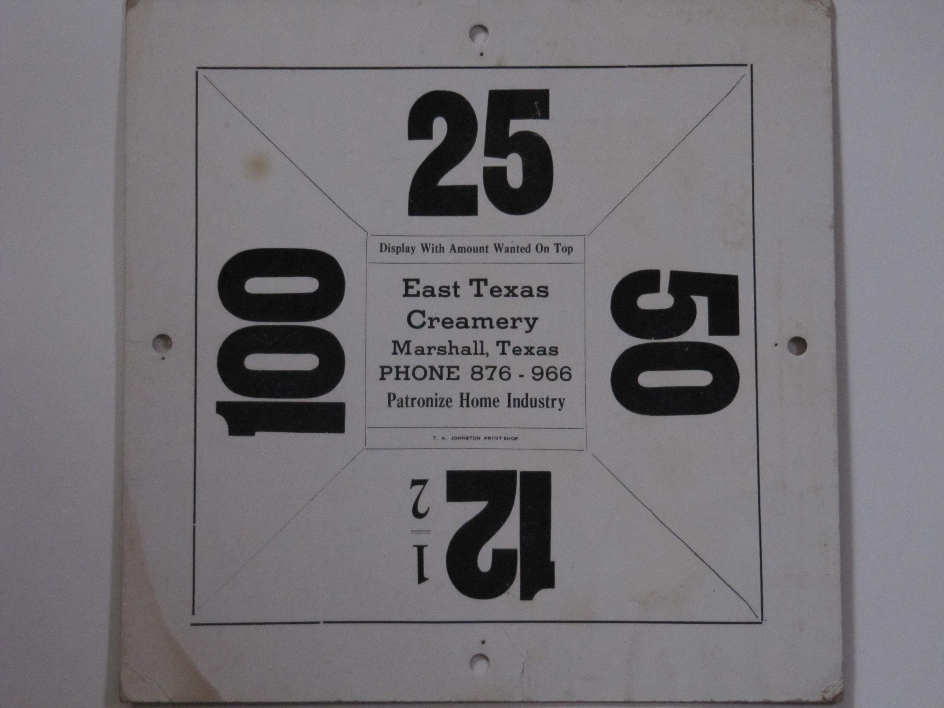 East Texas Creamery