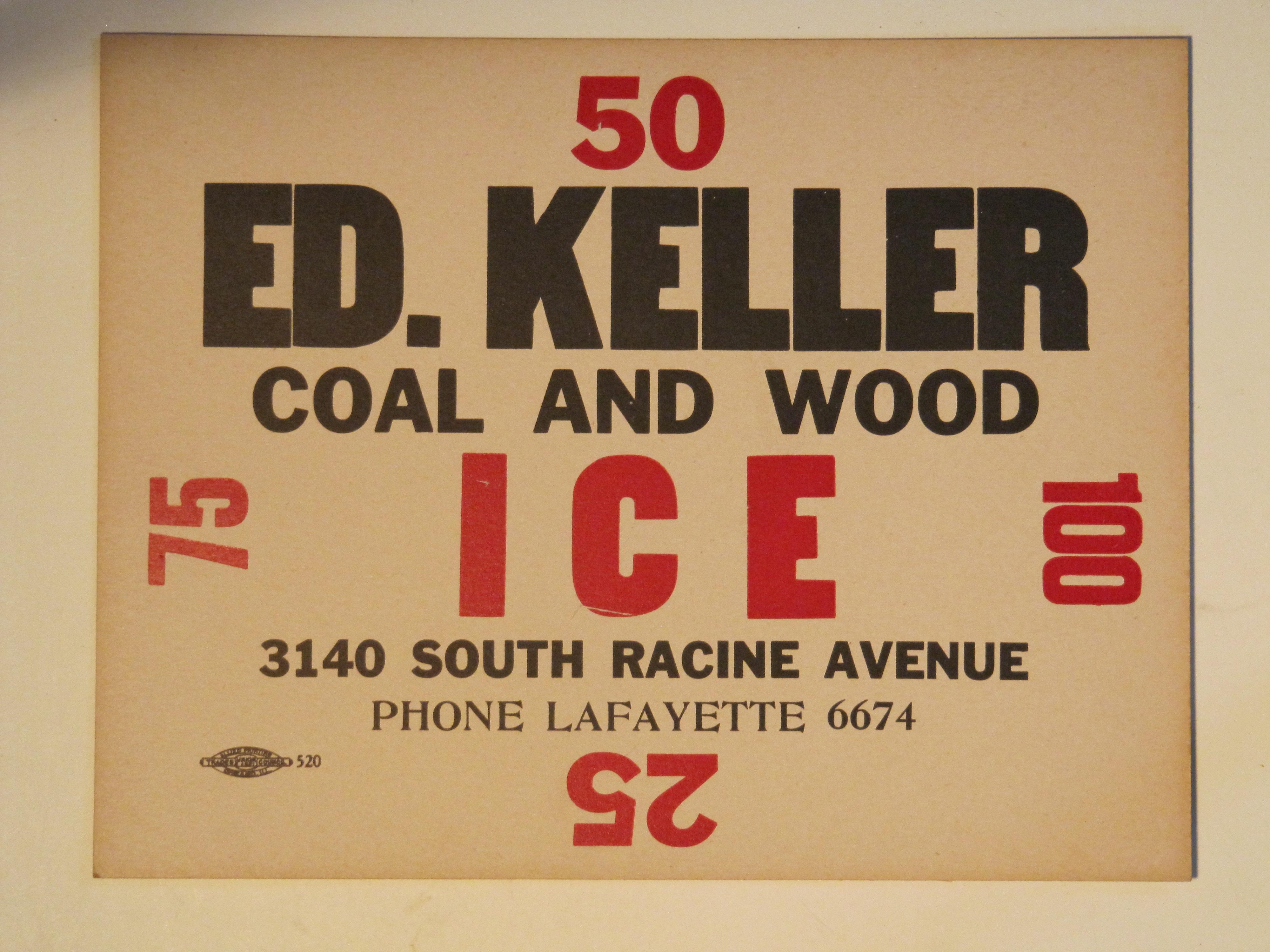 Ed Keller Ice