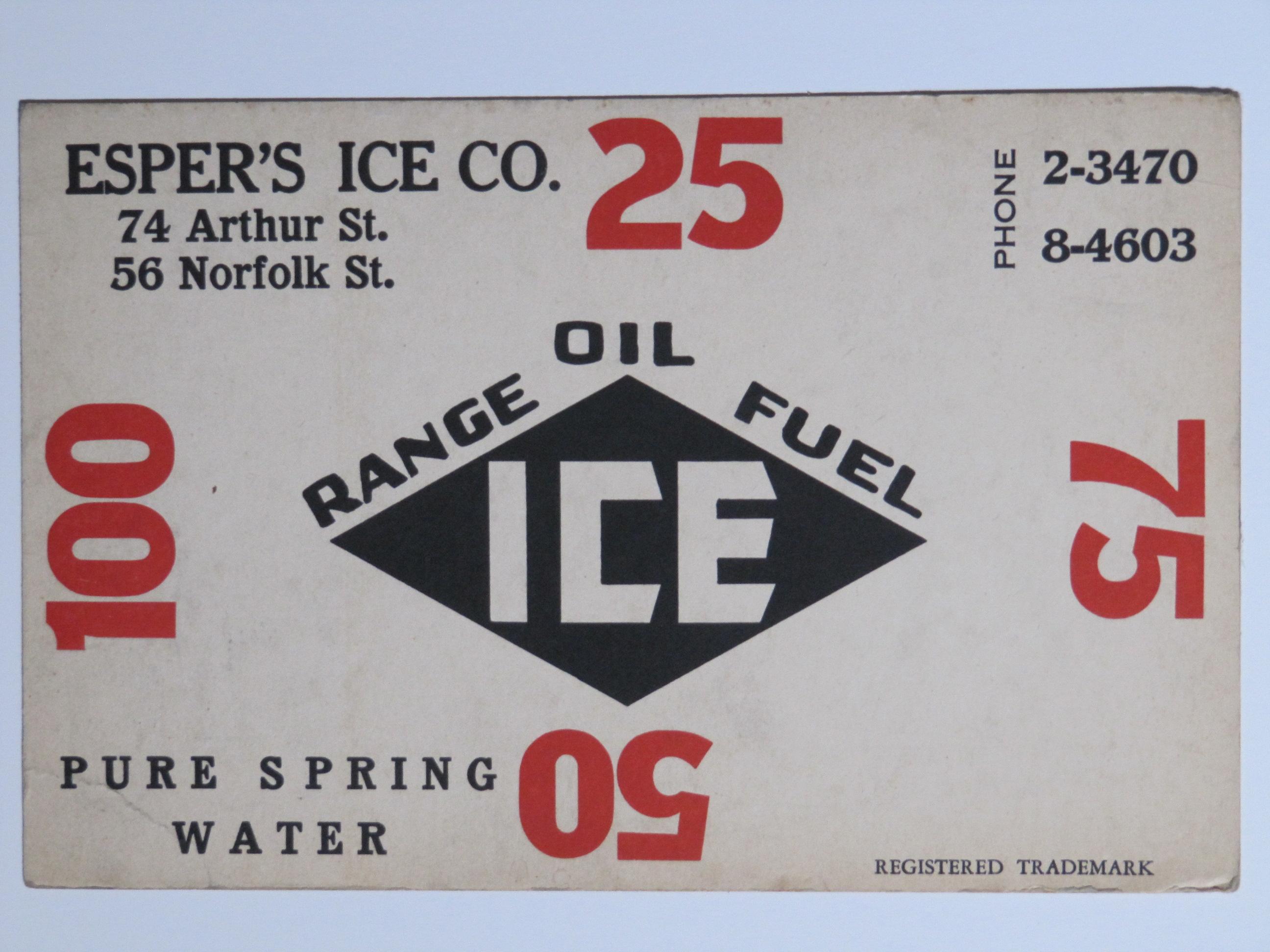 Esper Ice Co a