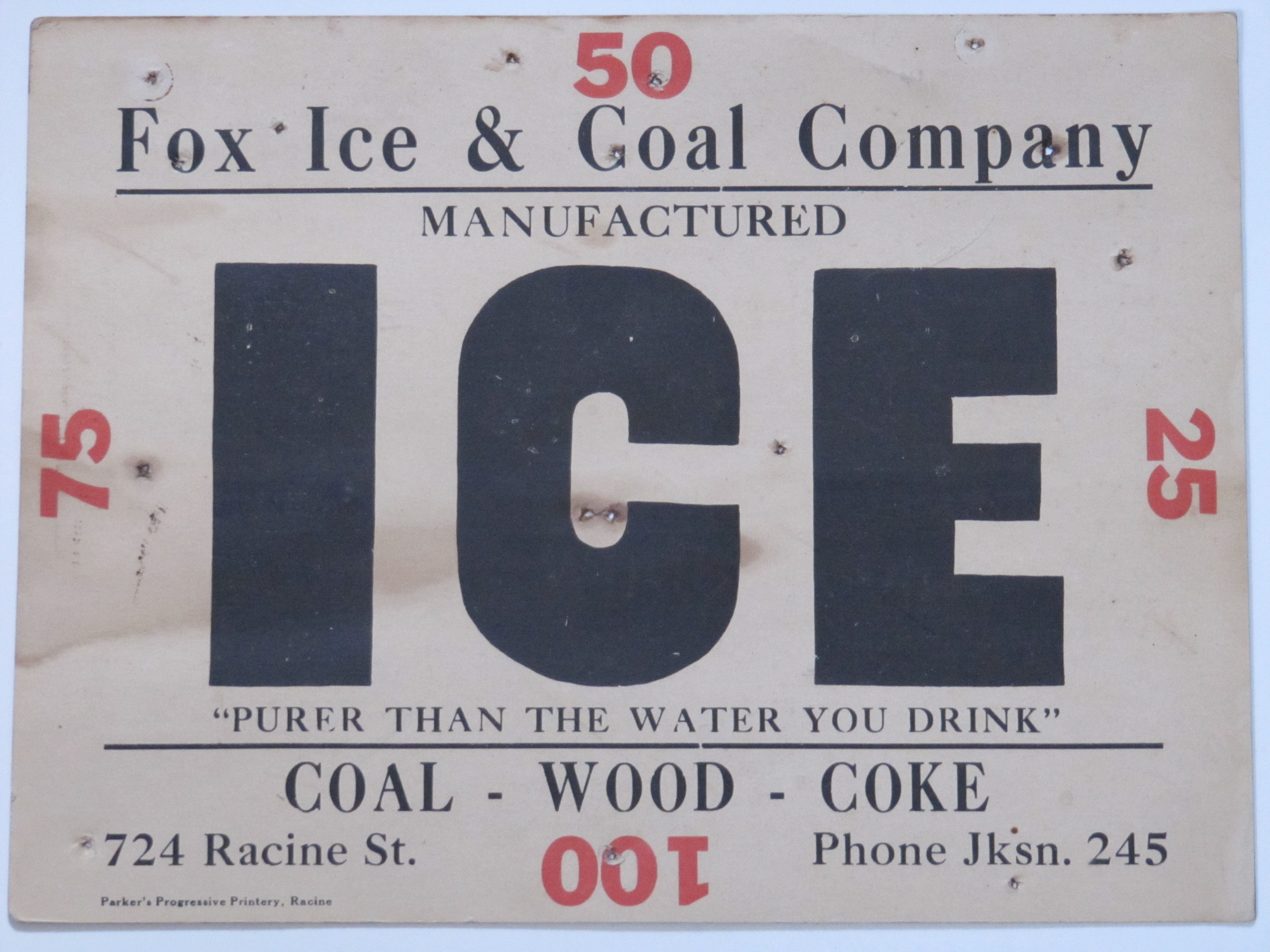 Fox Ice & Coal Co.