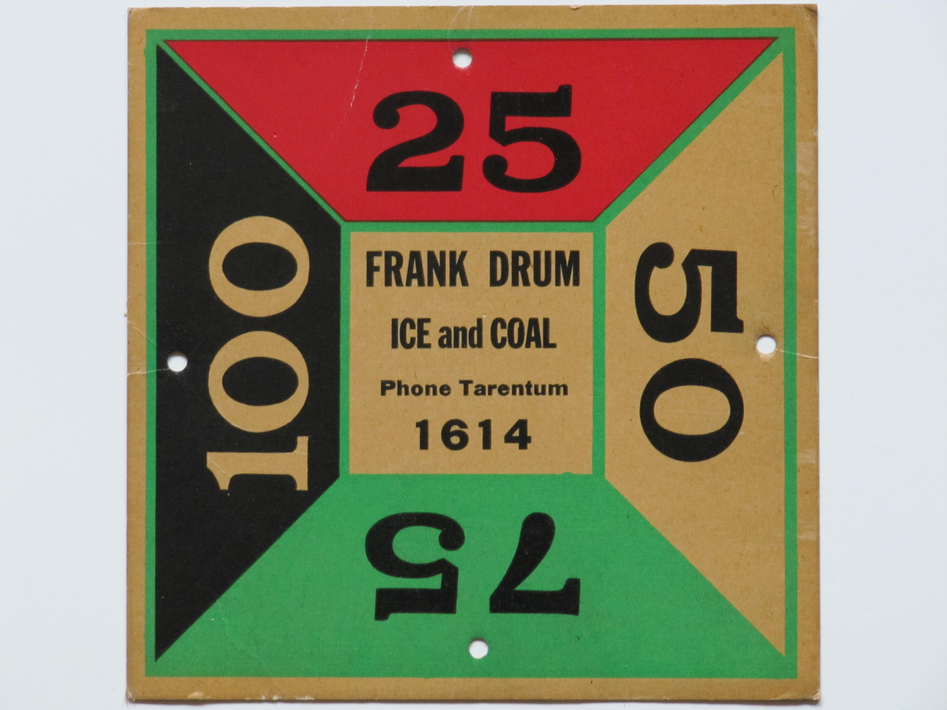 Frank Drum Ice & Coal