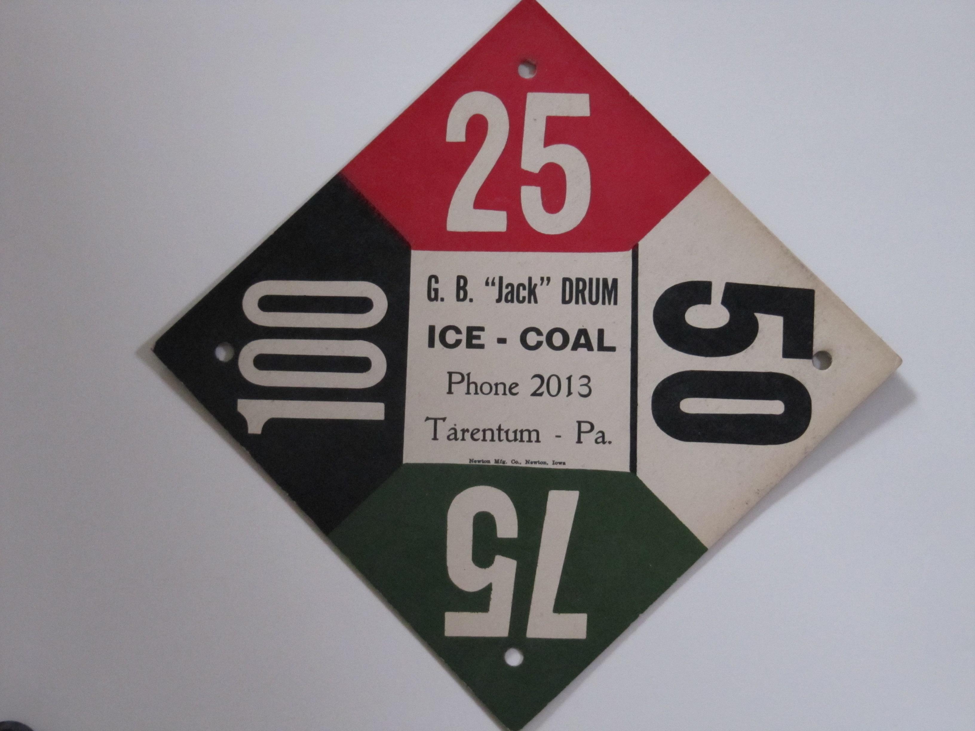 G.B.Jack Drum Ice Coal