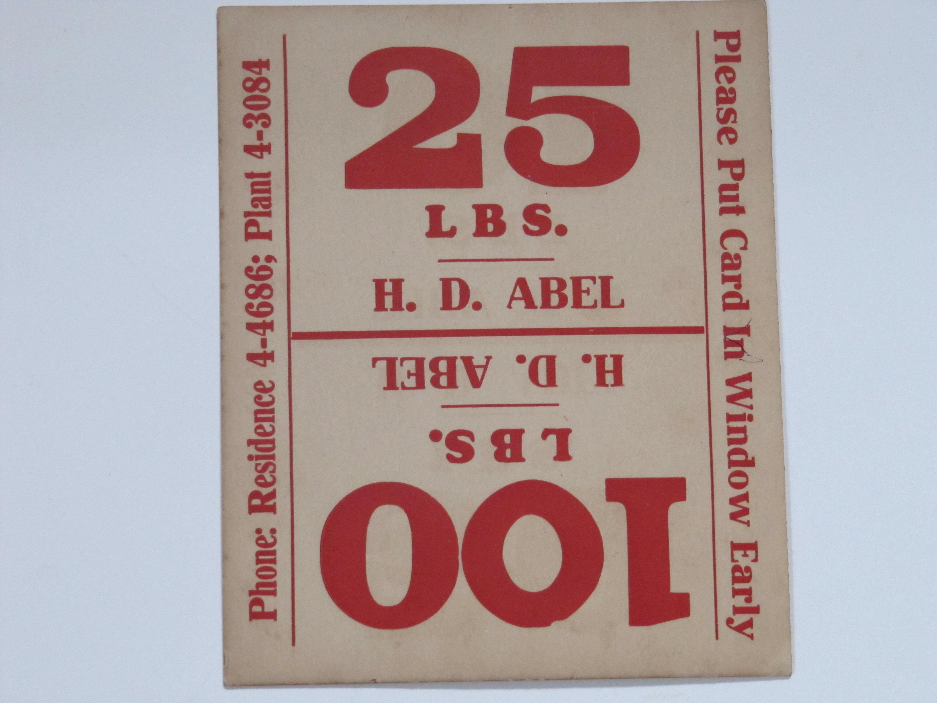 H D Abel a