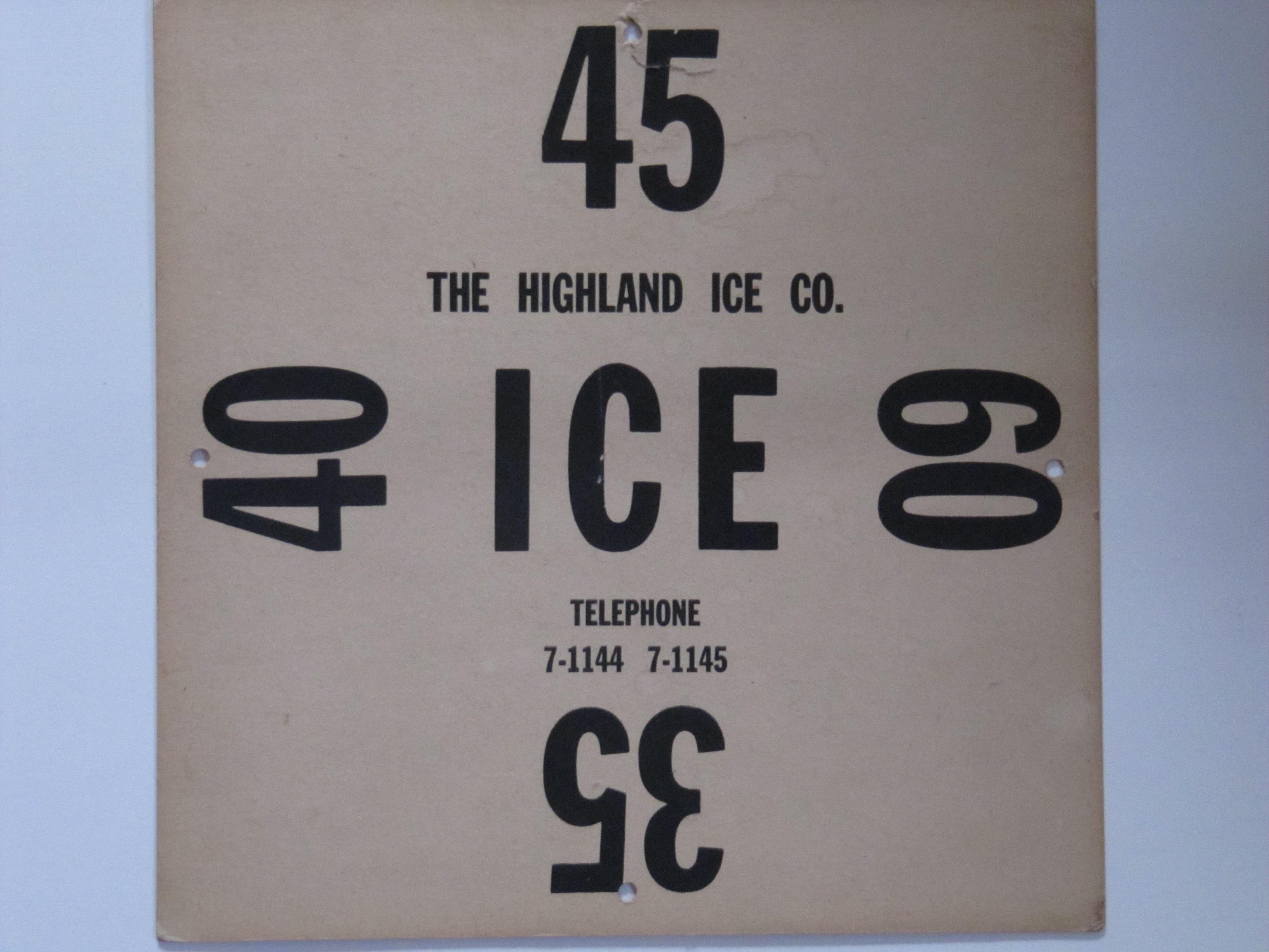 Highland Ice Co.