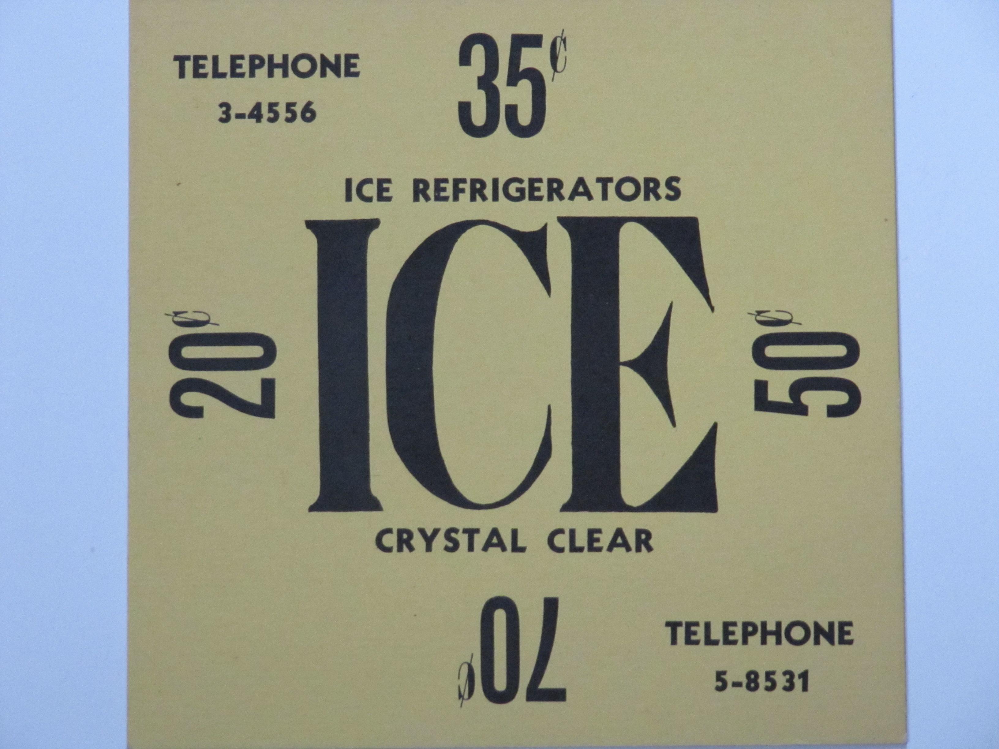Ice Card Ph3-4556