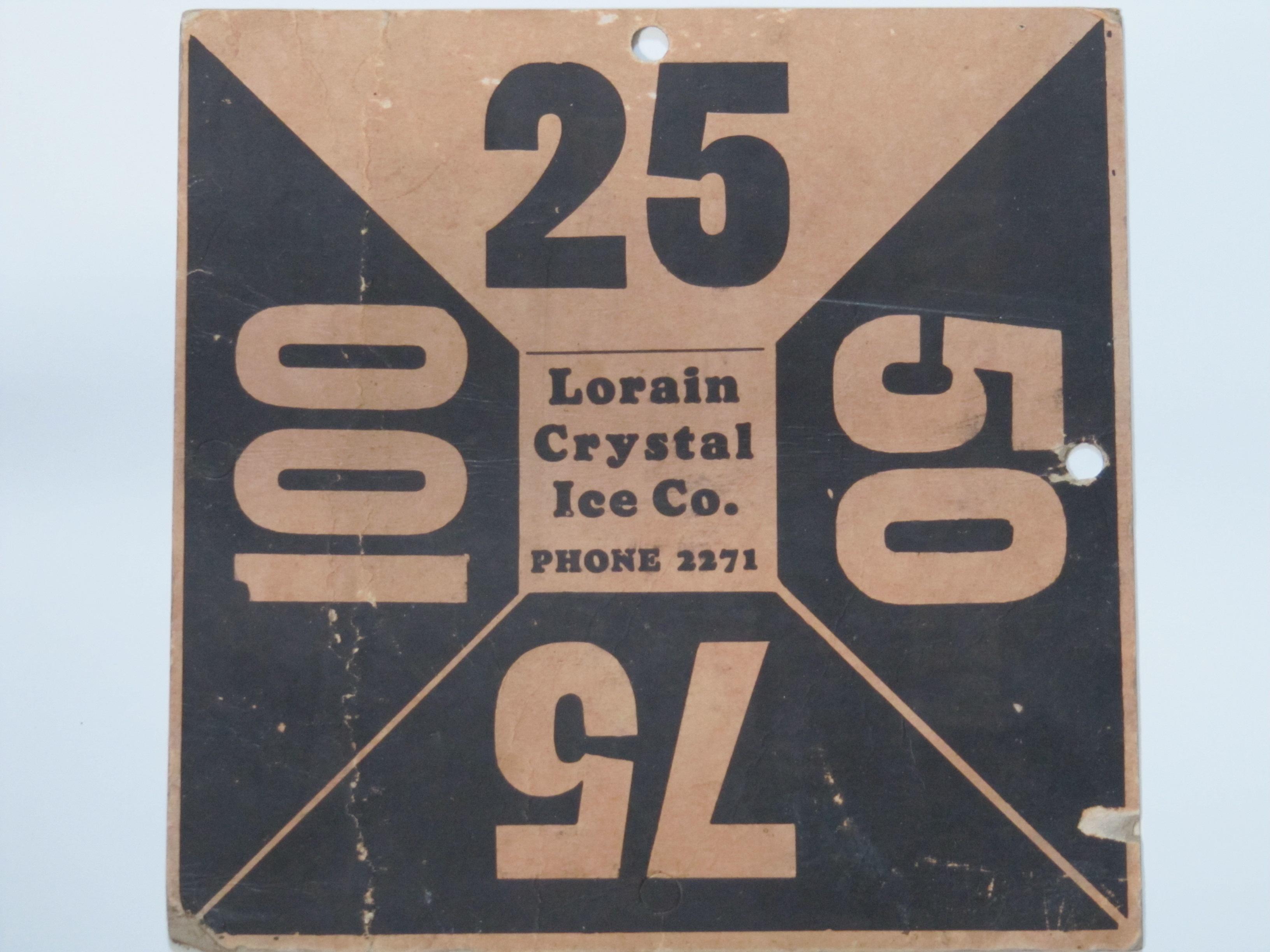 Lorain Crystal Ice Co.