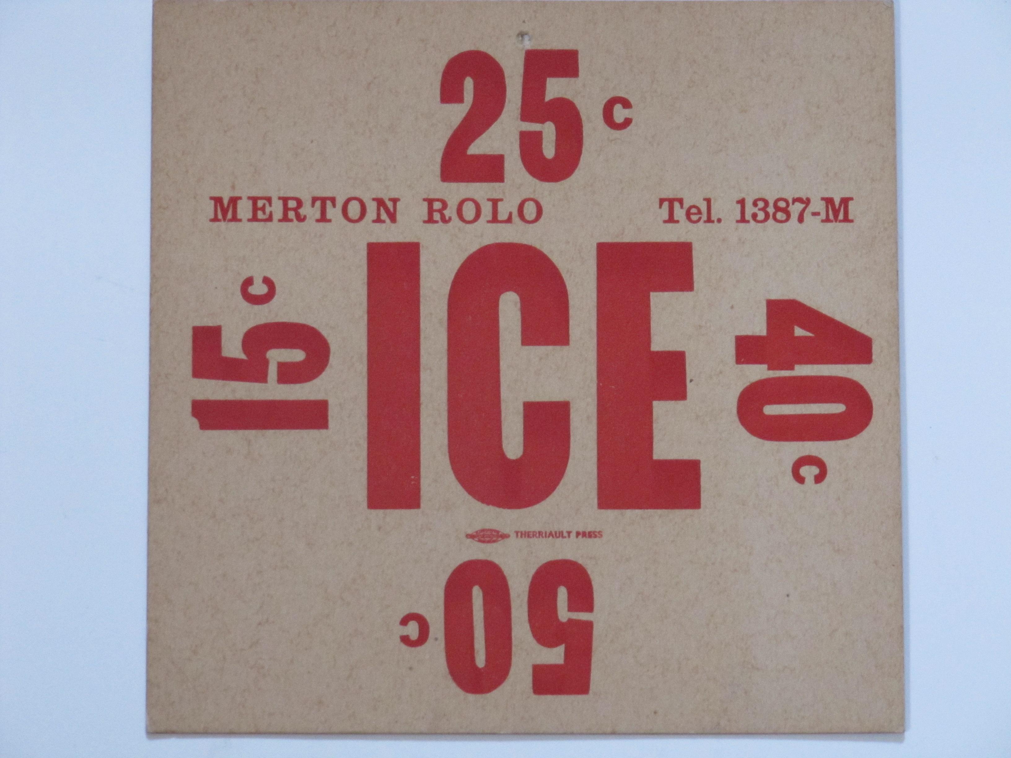 Merton Rolo Ice