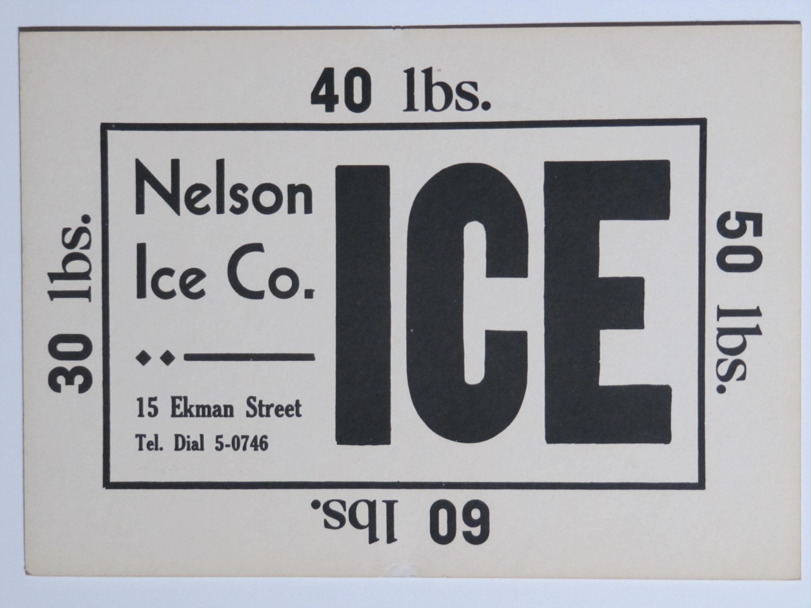 Nelson Ice