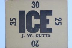 J W Cutts
