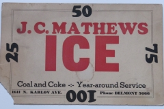 J.C.Mathews Ice