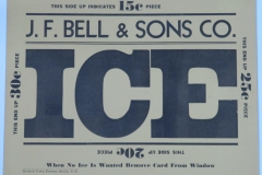 J.F.Bell & Sons Ice Co.