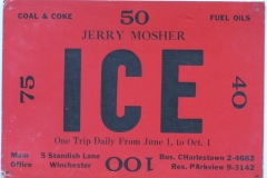 Jerry Mosher Ice Winchester
