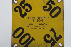 John Oberer & Son (METAL CARD)