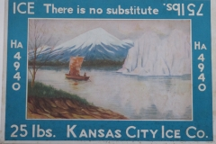 Kansas City Ice Co. blue