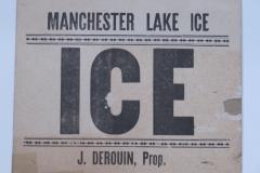 Manchester Lake Ice