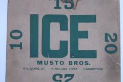 Musto Bros. Ice