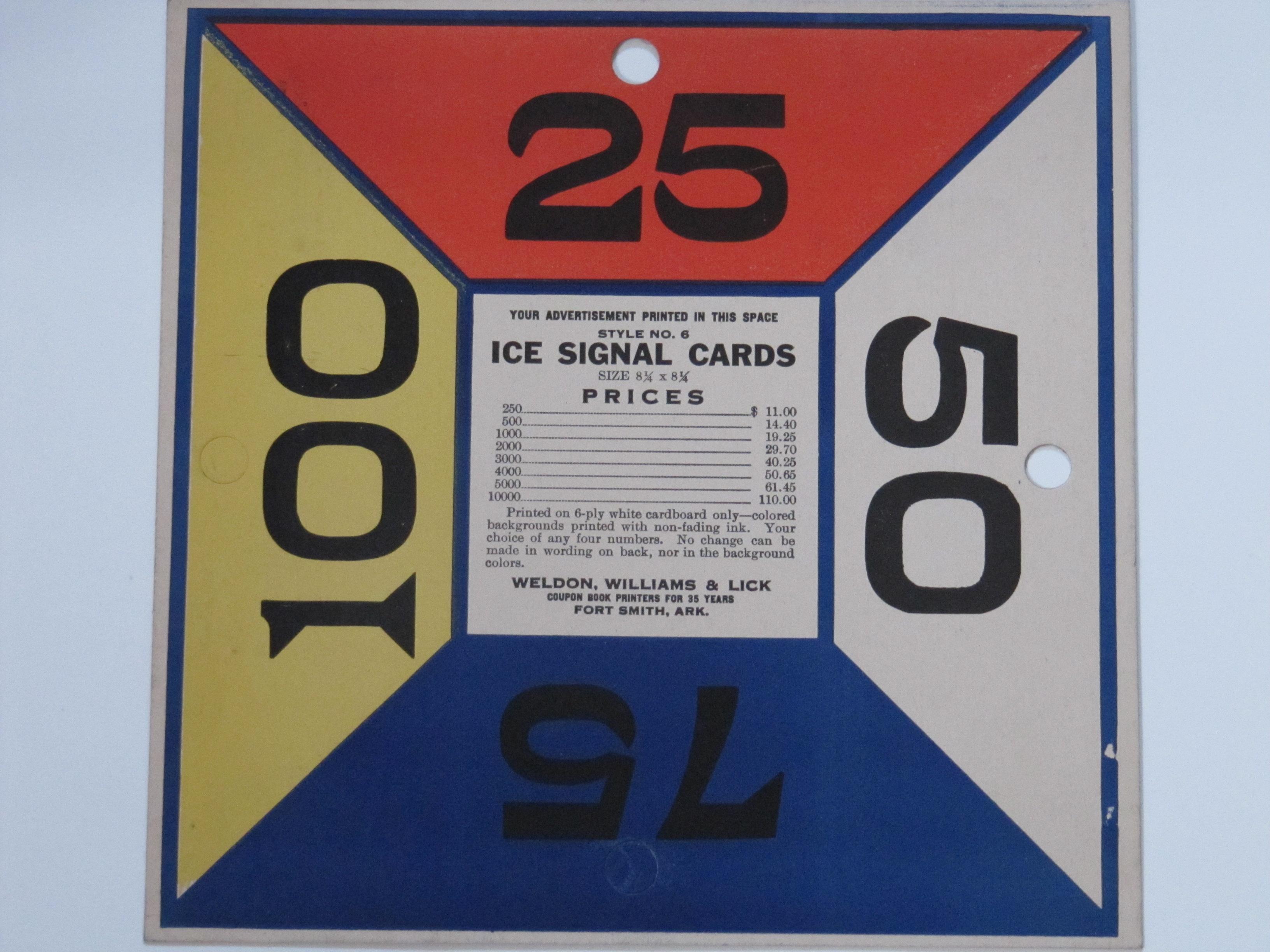 Ice Signal Card