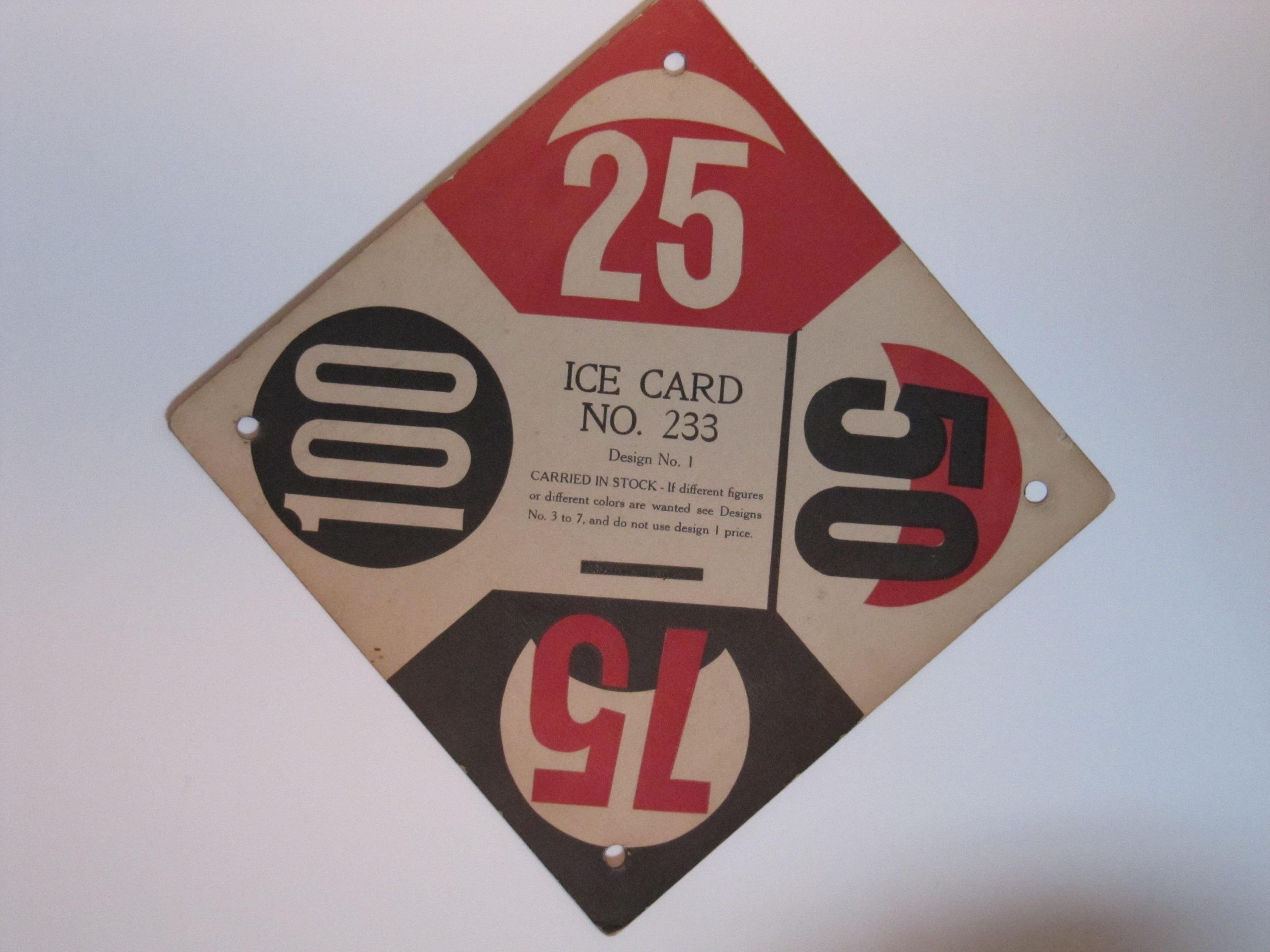 ice card no 233