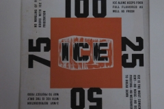 Ice orange block