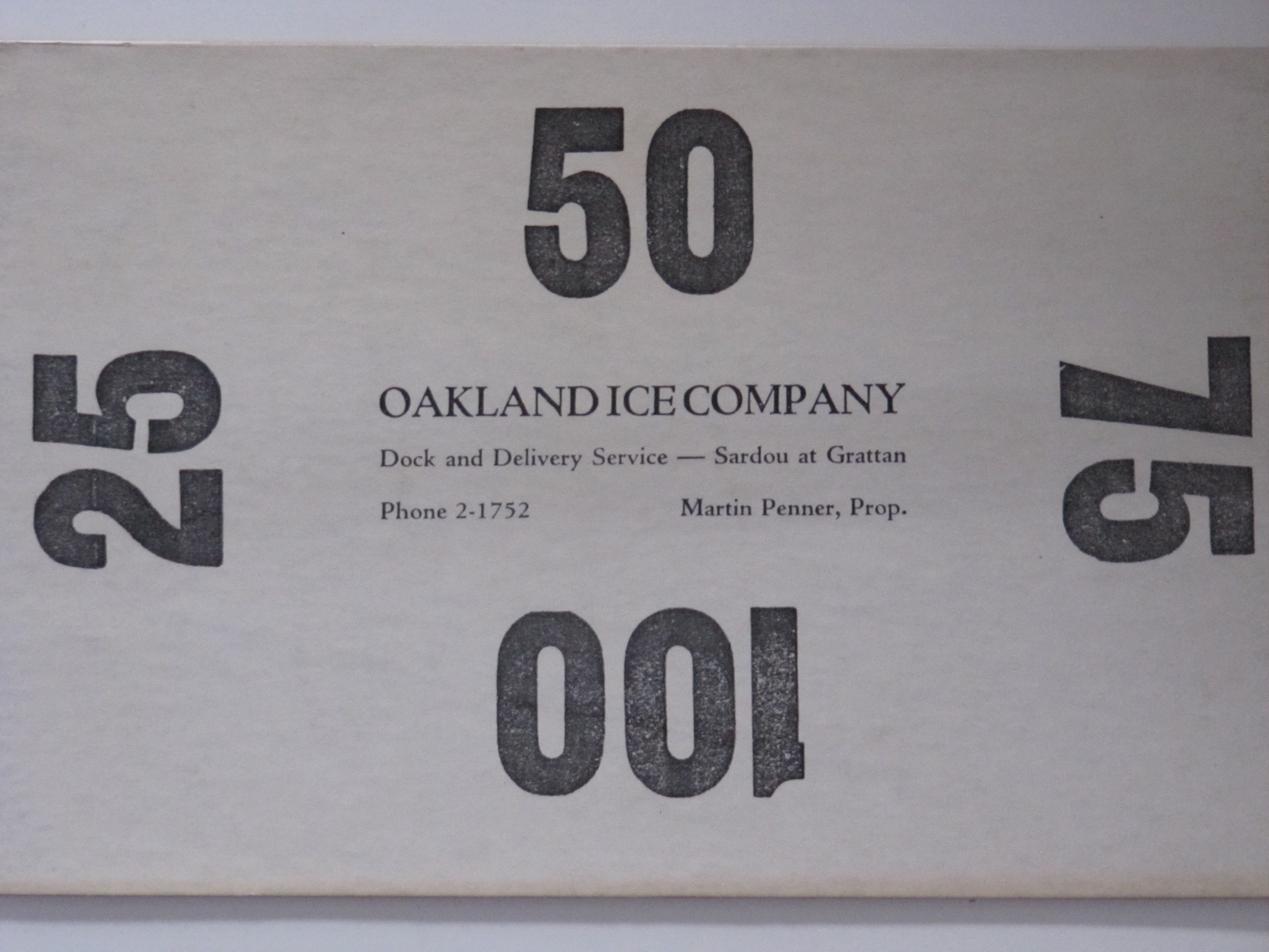 Oakland Ice Co.