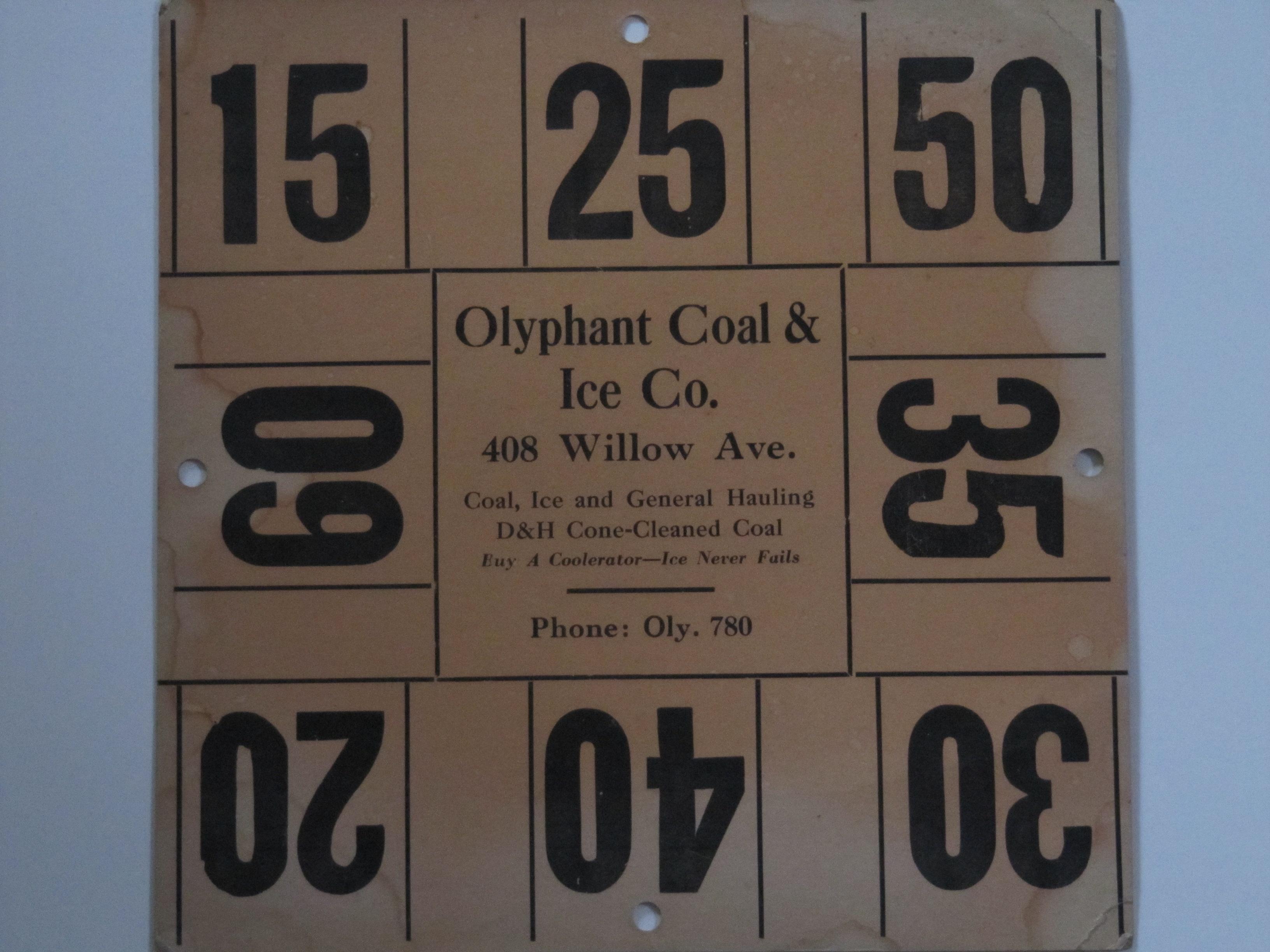 Olyphant Coal & Ice Co.