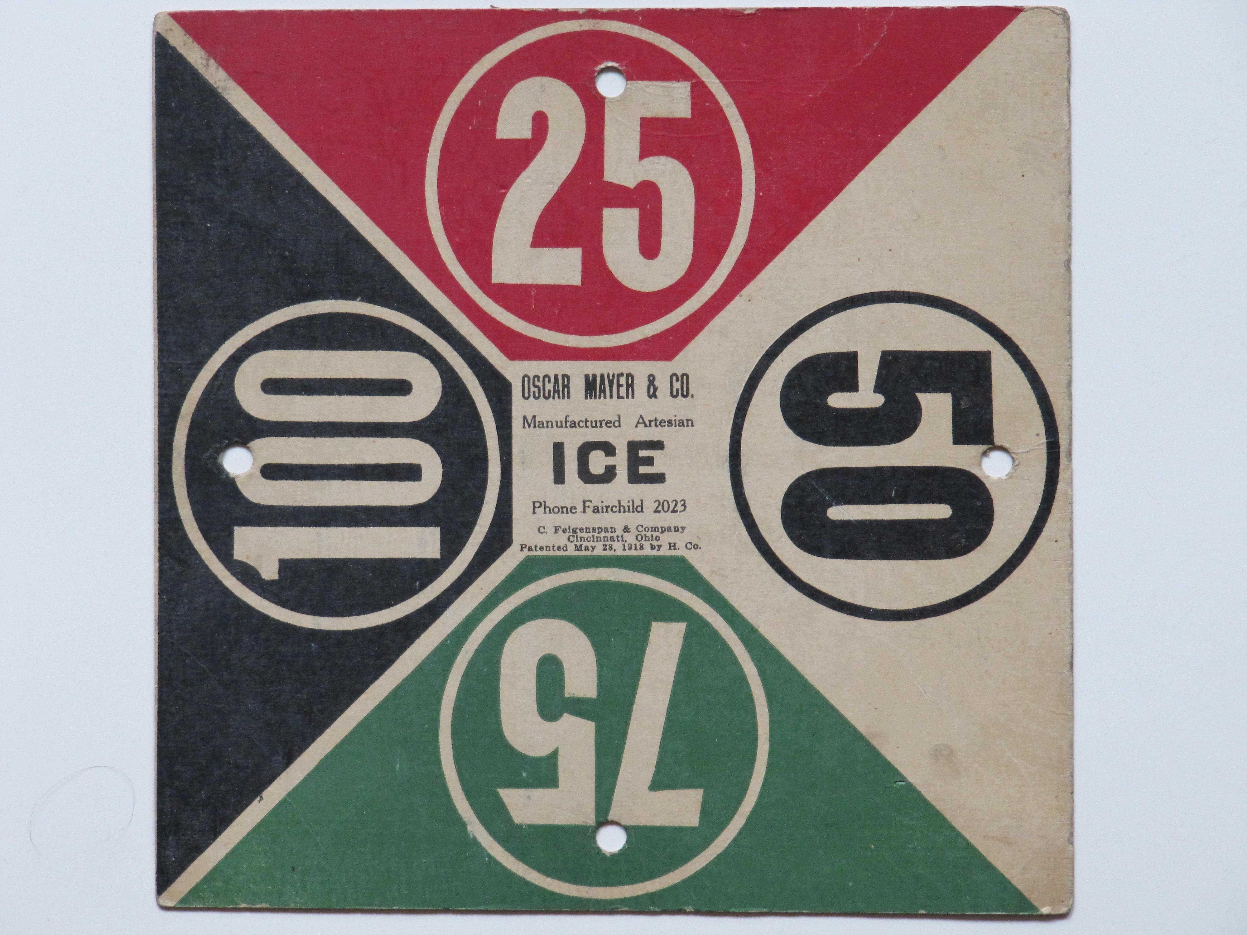 Oscar Mayer & Co. Ice