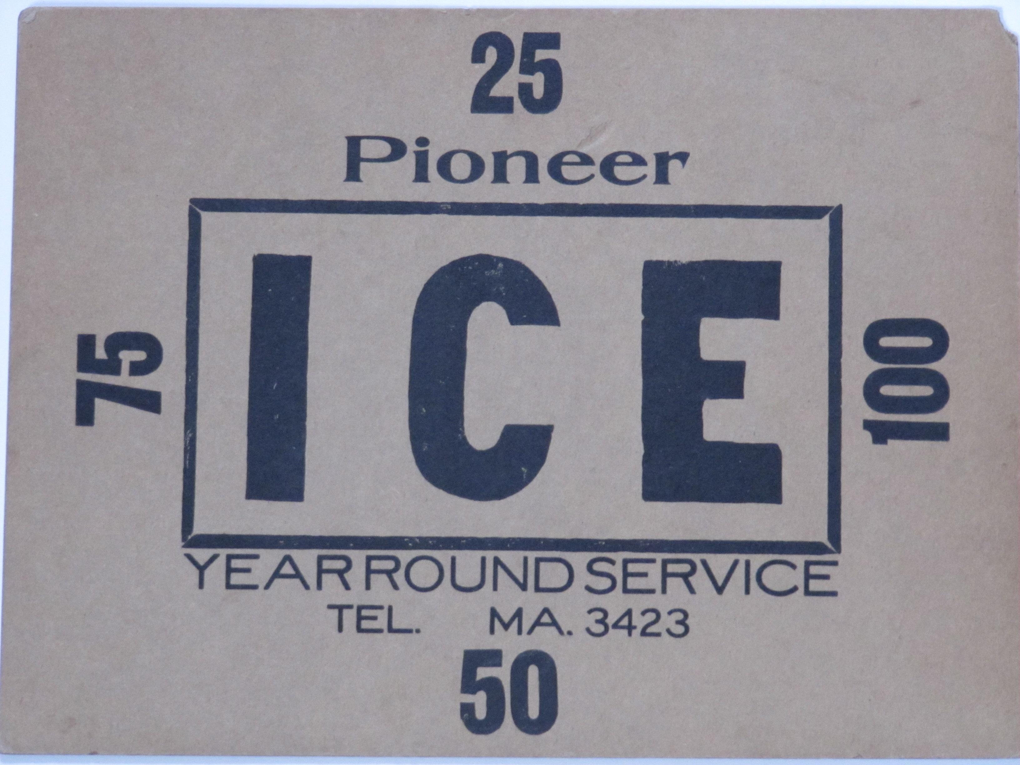 Pioneer Ice