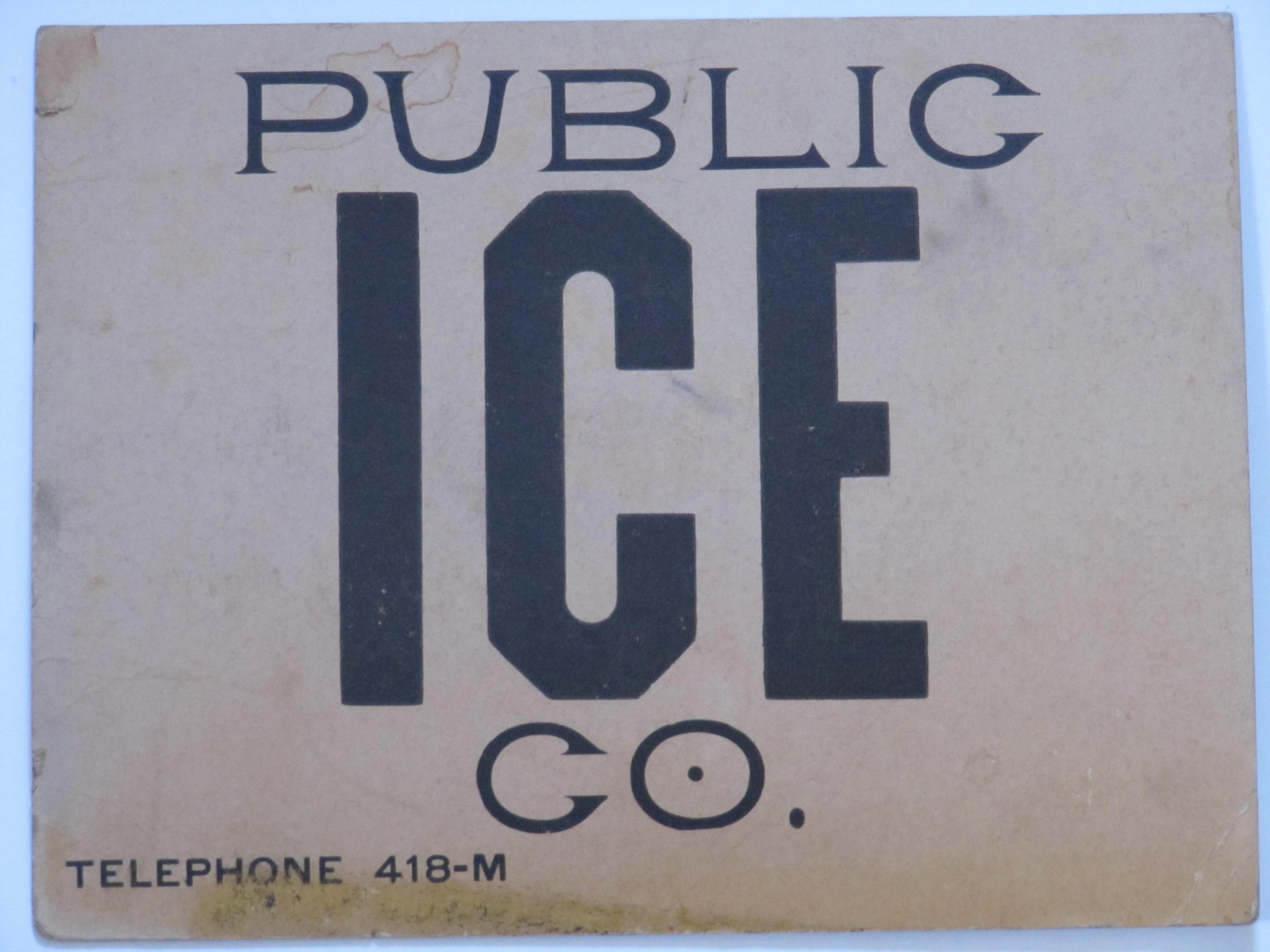 Public Ice Co.
