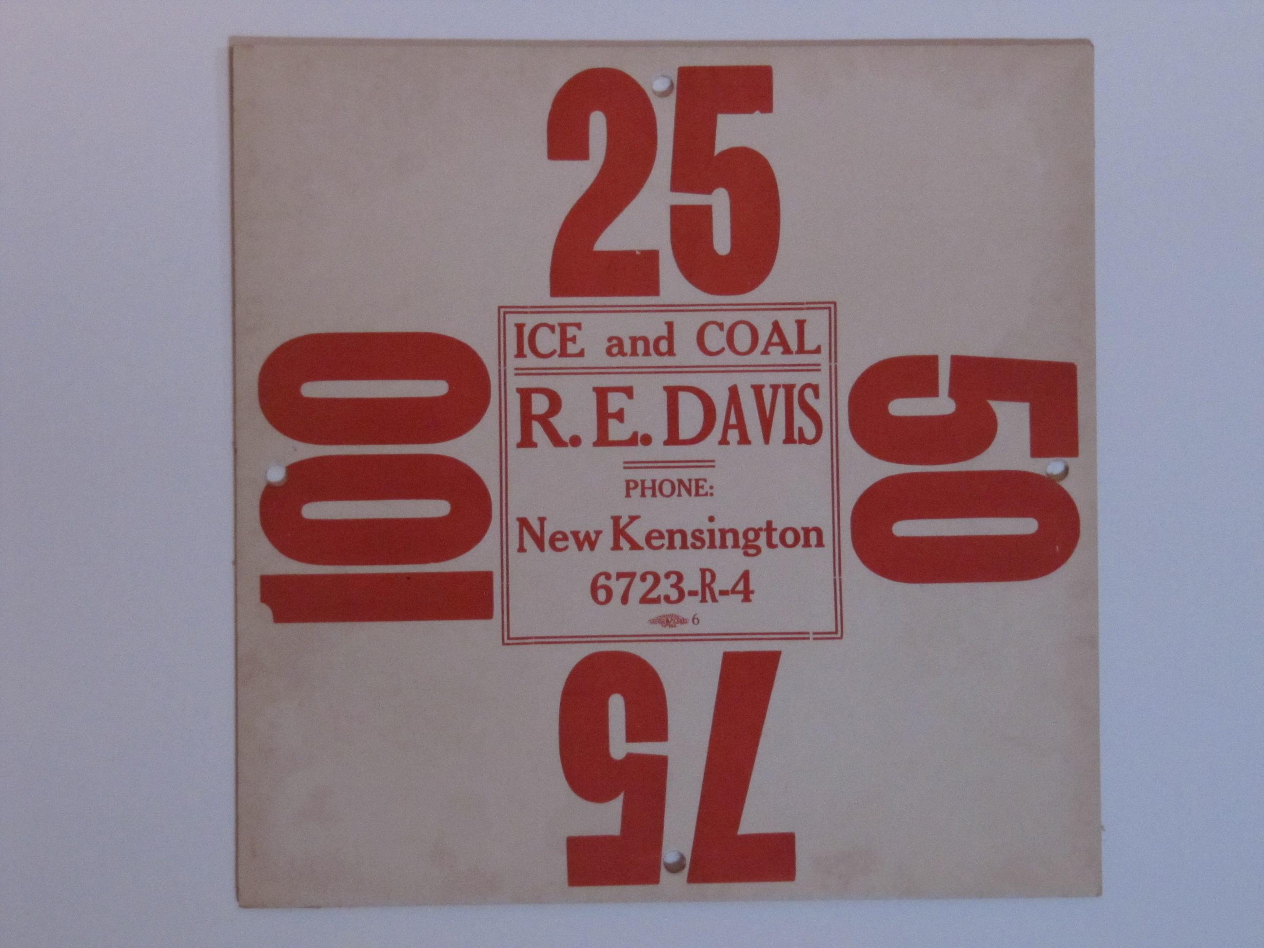 R E Davis New Kensington