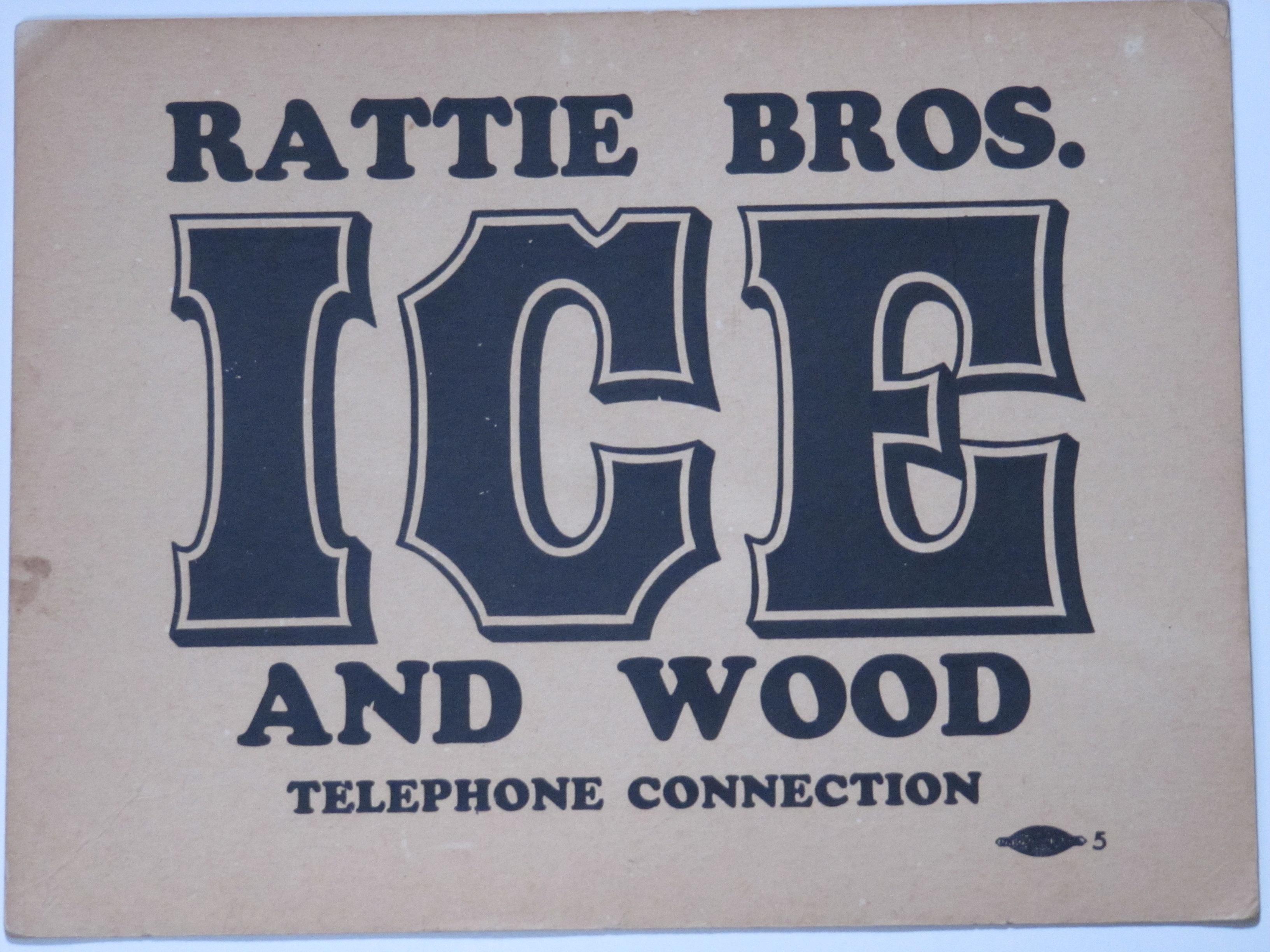 Rattie Bros. Ice