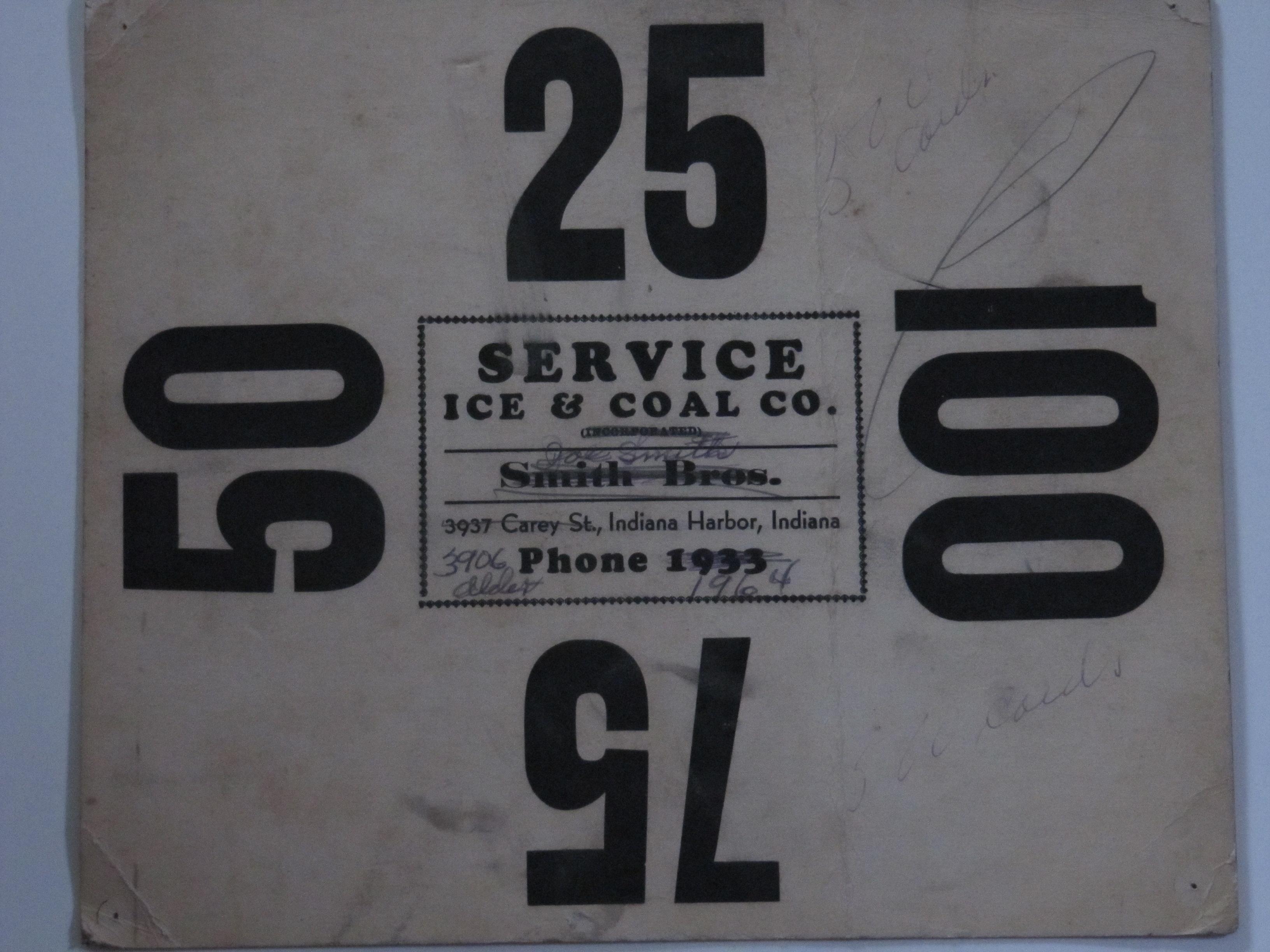 Service Ice & Coal Co.