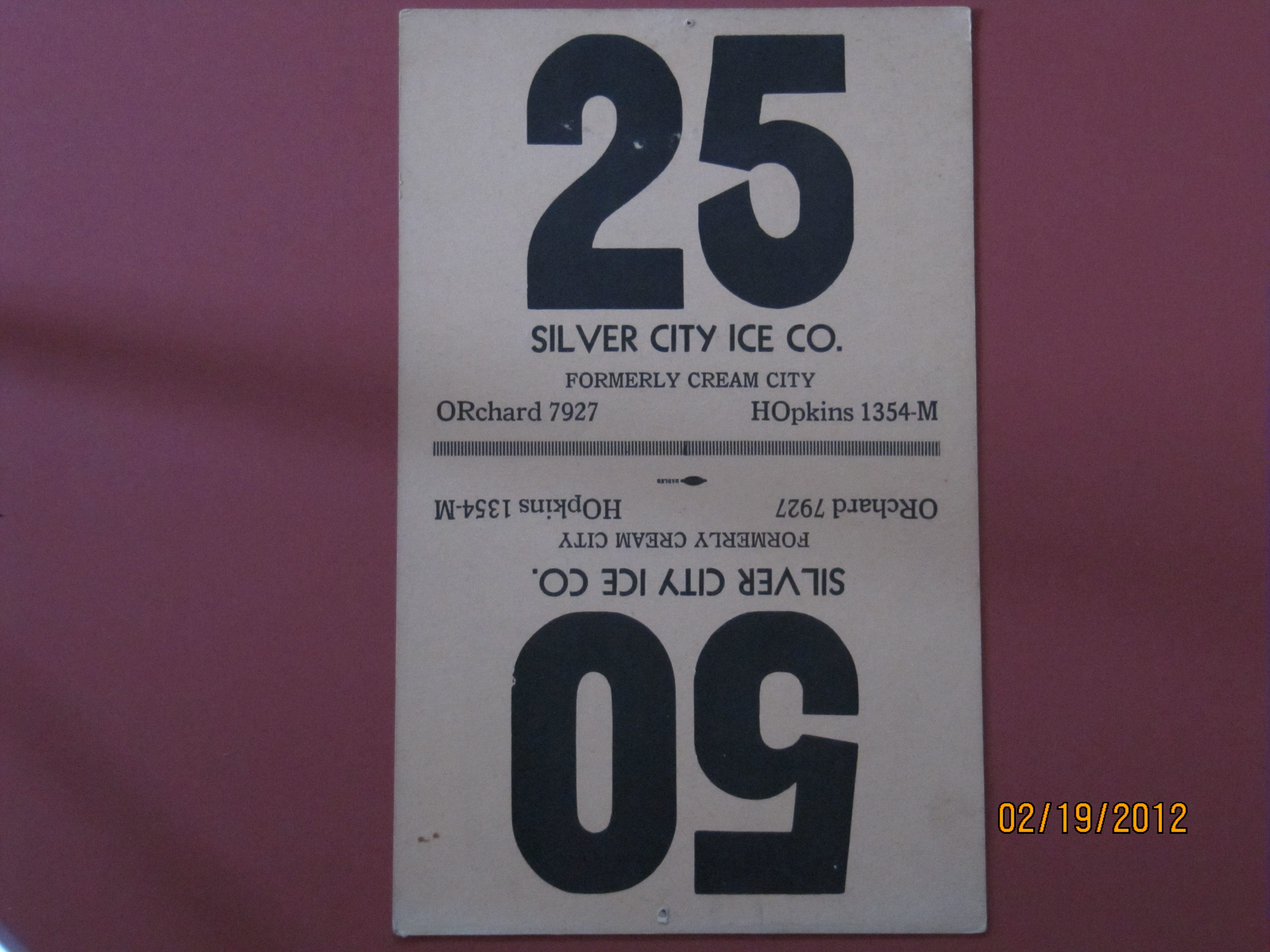 Silver City Ice Co.