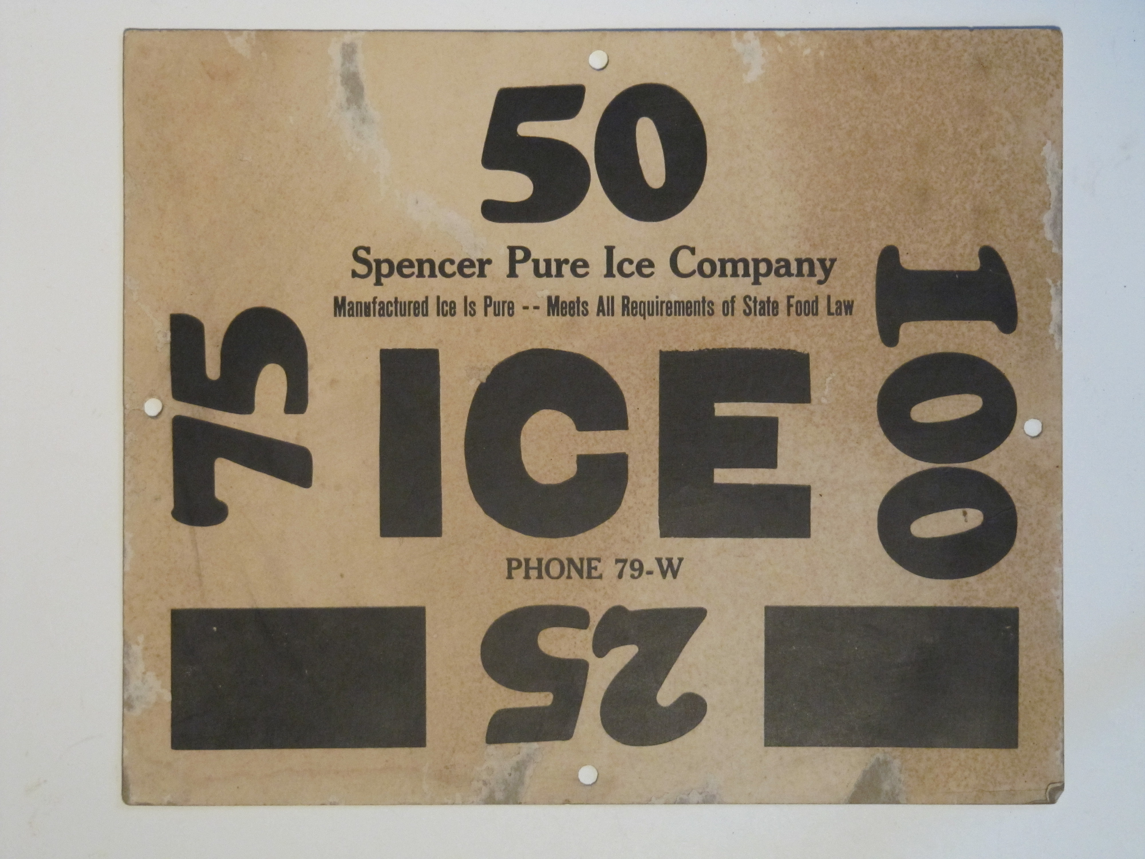 Spencer Pure Ice Co. (2)