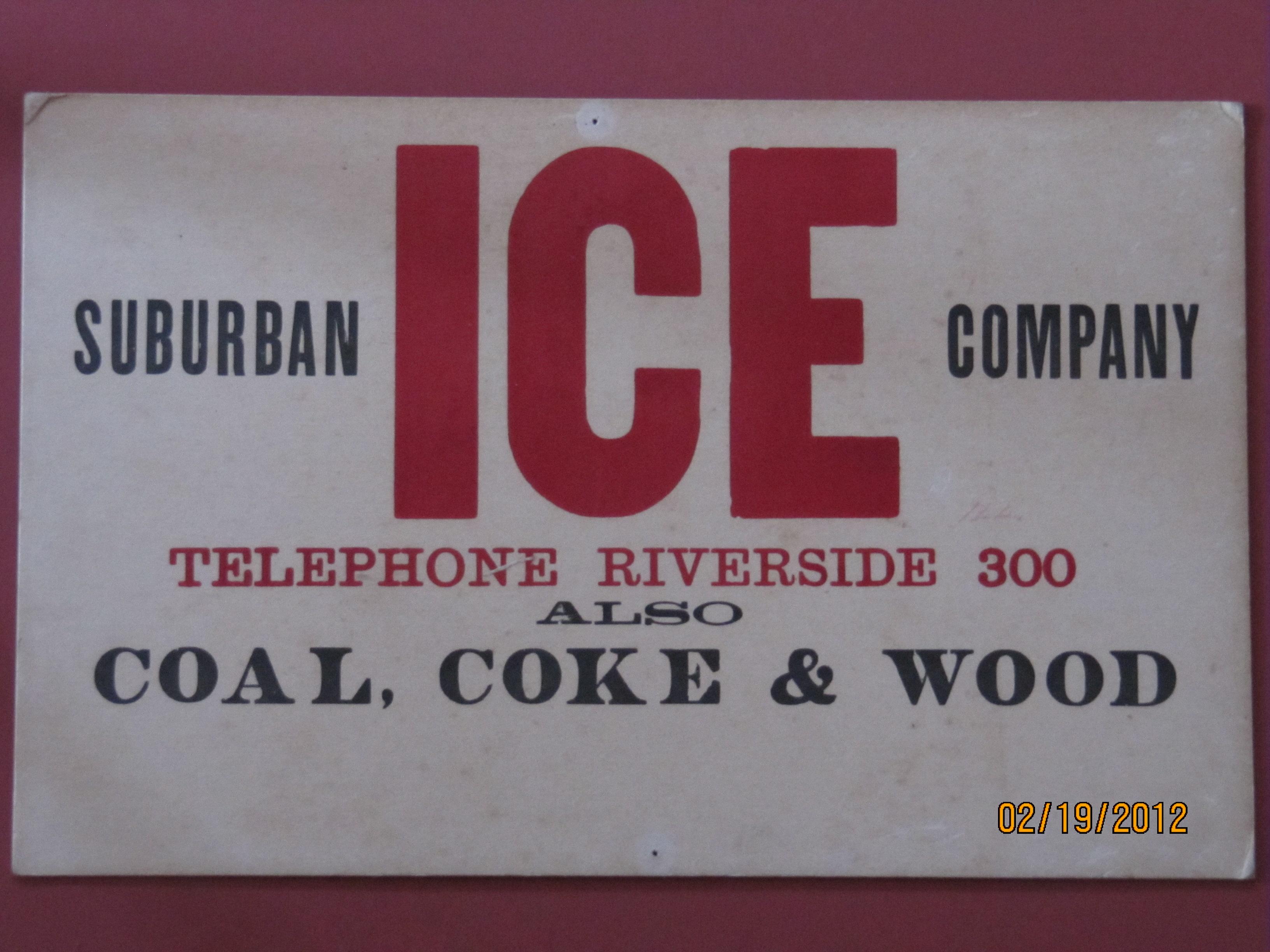 Suburban Ice Co.