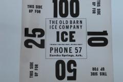 Old Barn Ice Co.