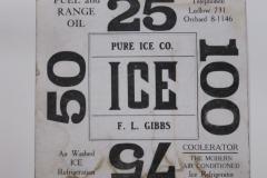 Pure Ice Co. Ludlow,Mass.
