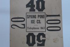 Spring Pond Ice Co.