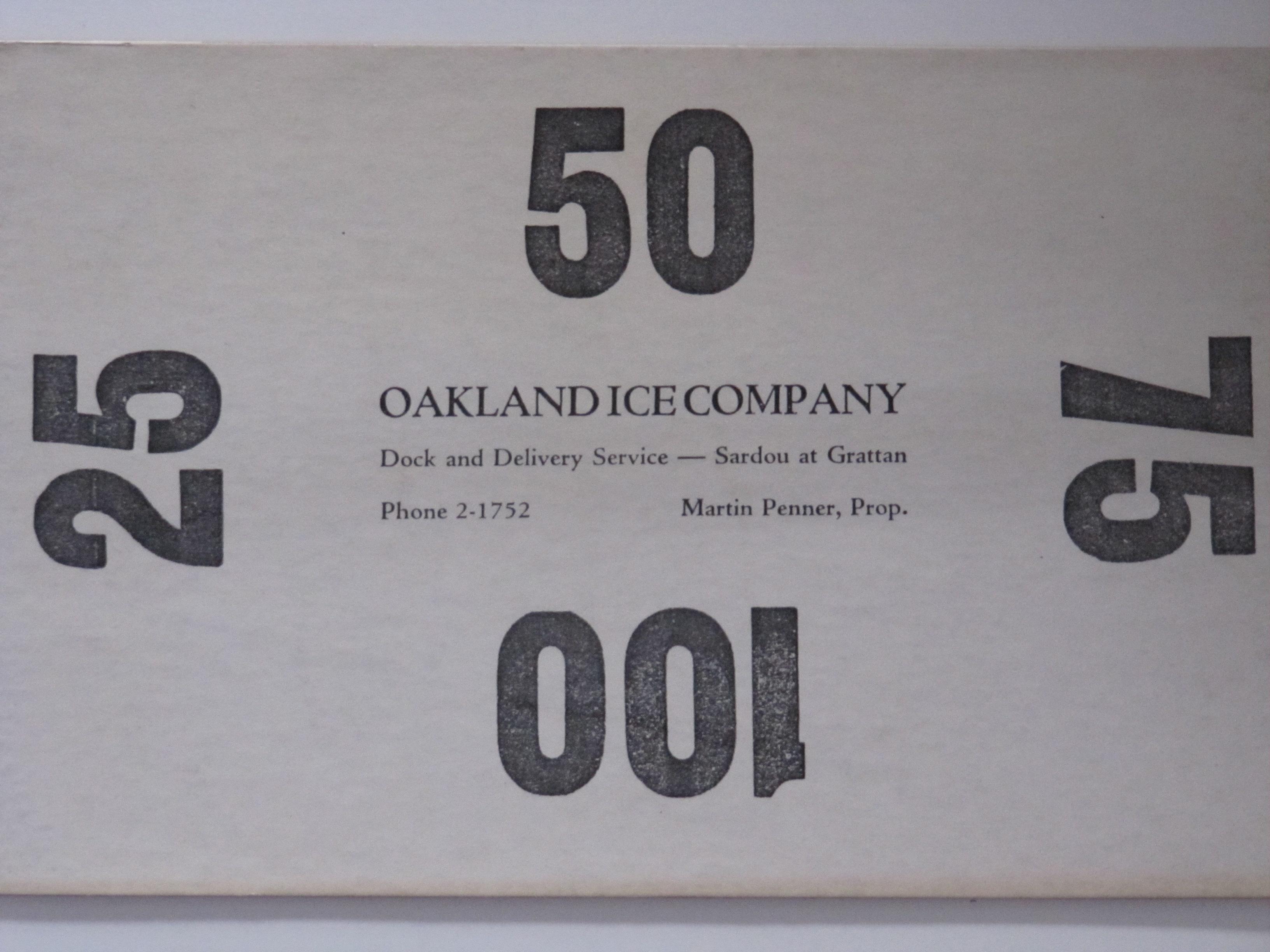 Oakland Ice Co.