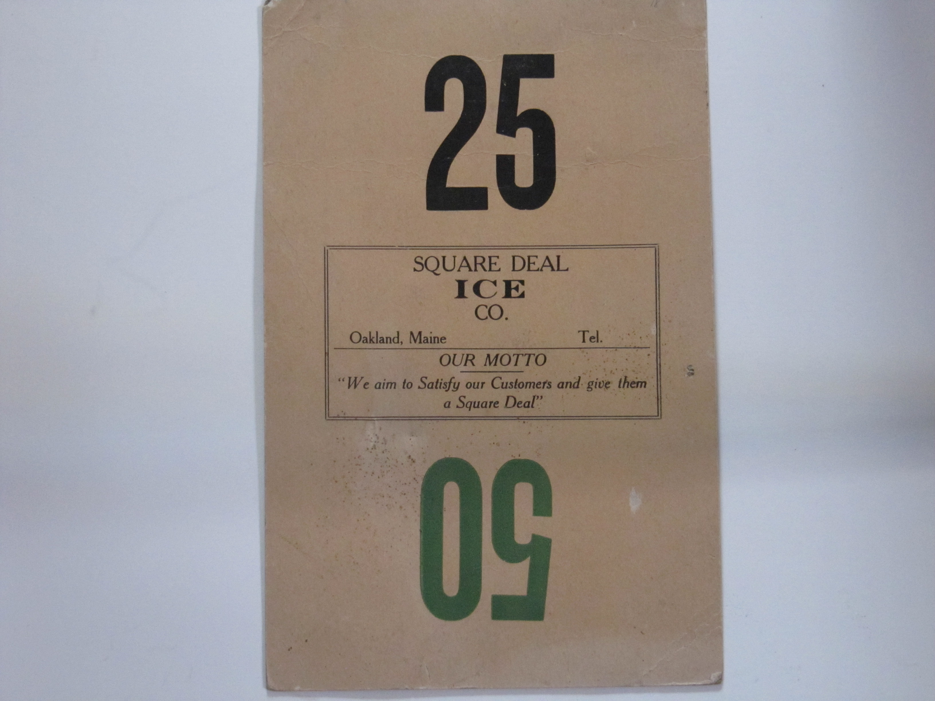 Square Deal Ice Co.